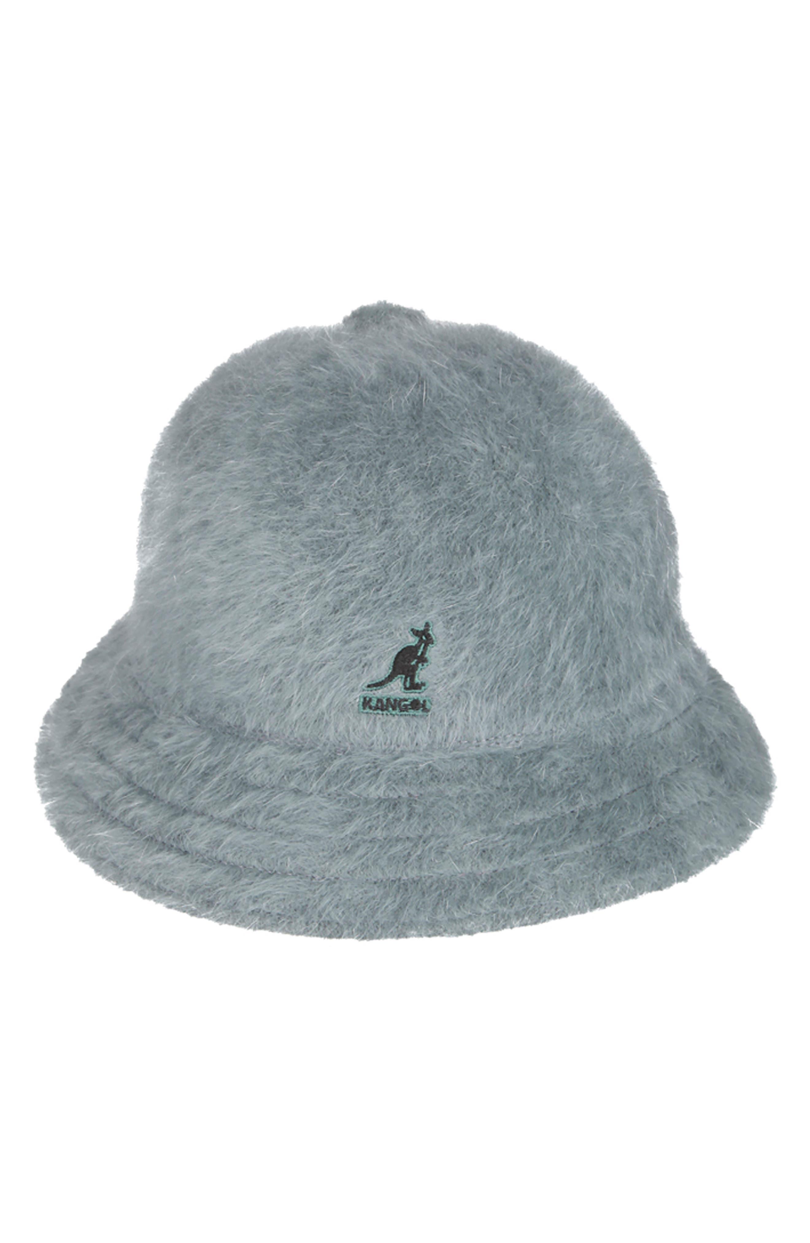 KANGOL Furgora Casual Bucket Hat - Grey in Slate Grey