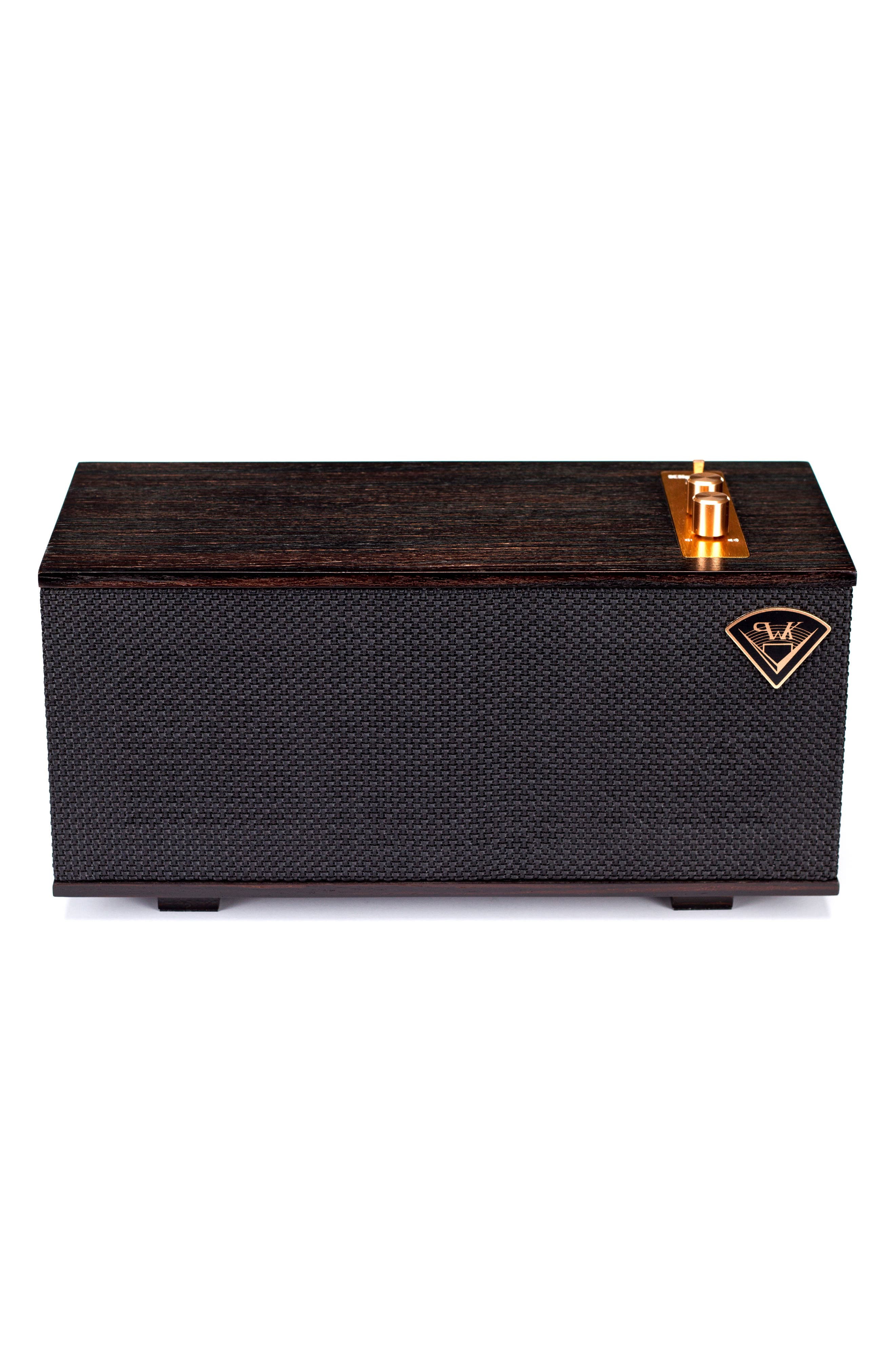 Klipsch The One Bluetooth<sup>®</sup> Speaker,                             Main thumbnail 1, color,                             EBONY