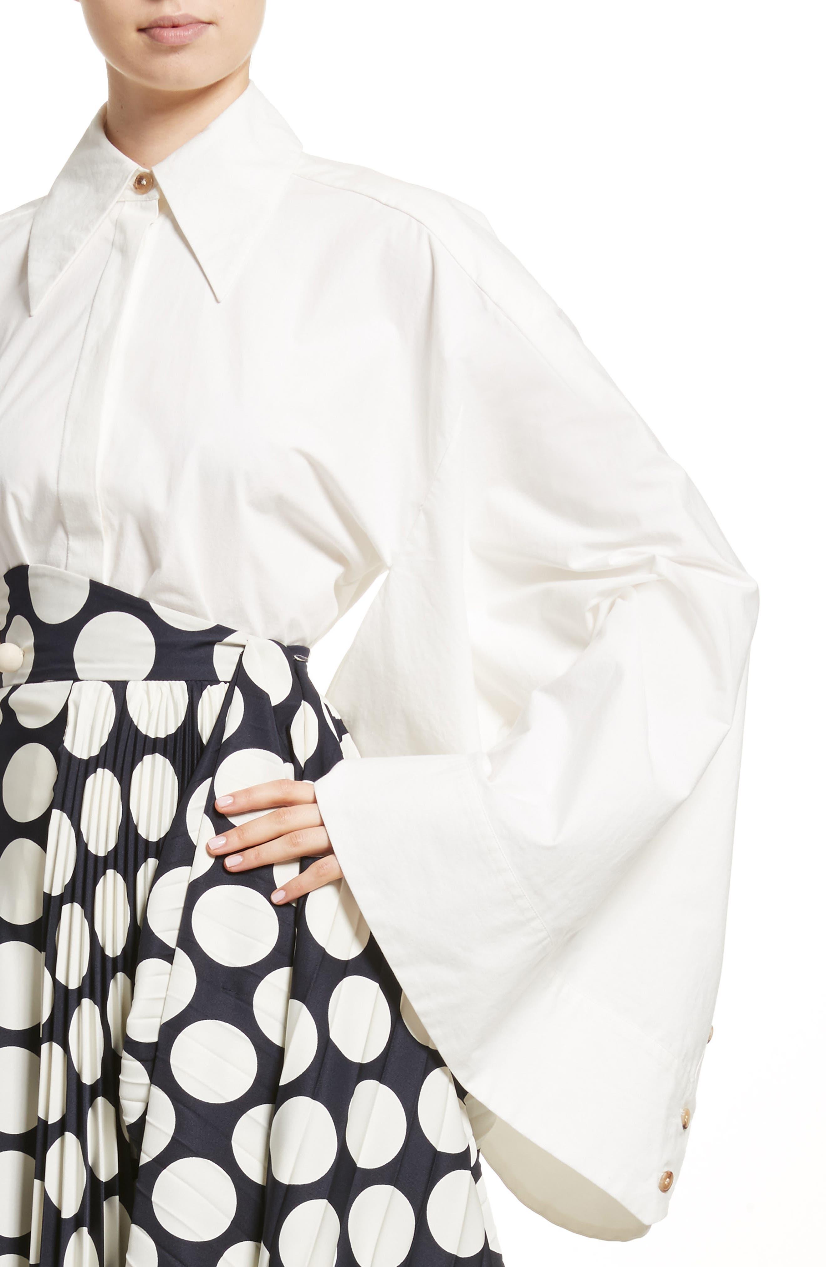 Kimono Sleeve Shirt,                             Alternate thumbnail 4, color,                             100