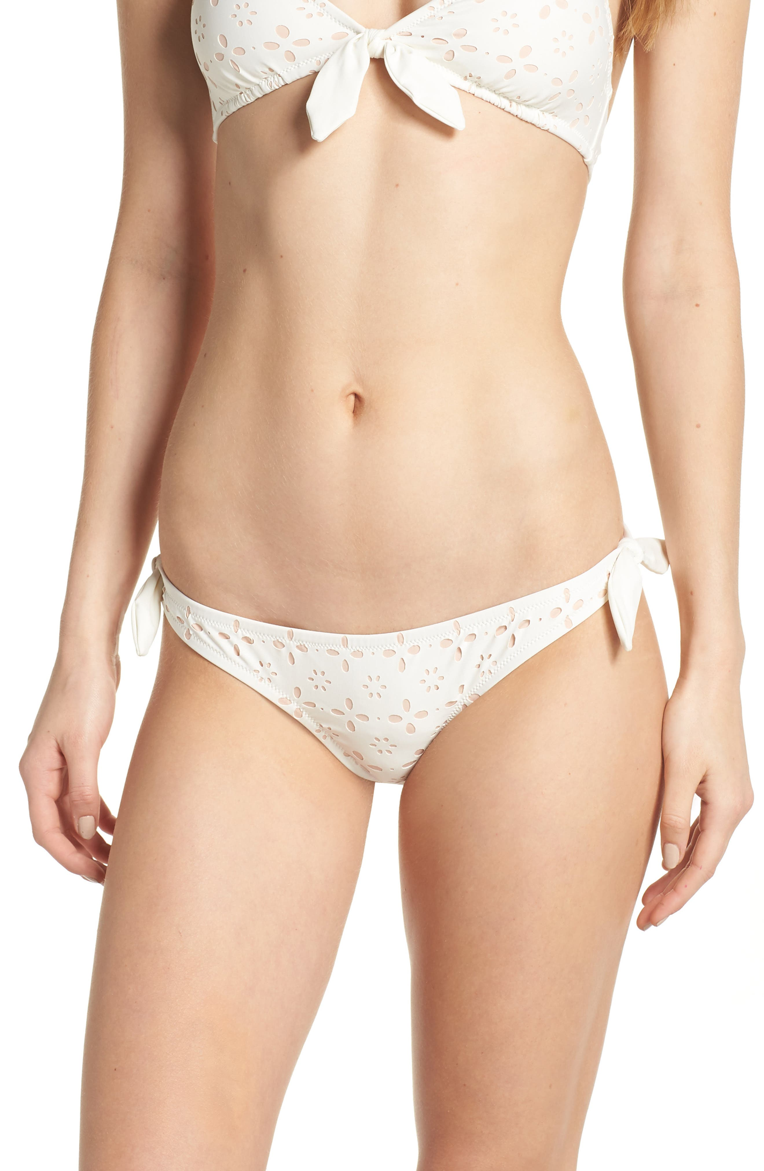 Rosie Side Tie Bikini Bottoms,                             Main thumbnail 1, color,
