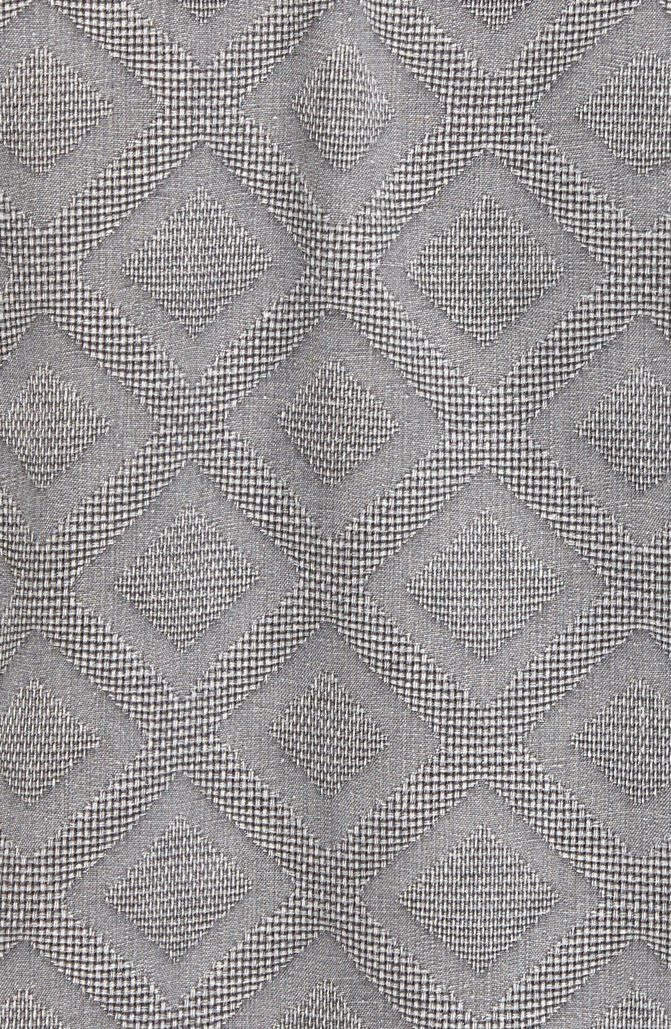 Solid Diamond Isle Silk Sport Shirt,                             Alternate thumbnail 9, color,