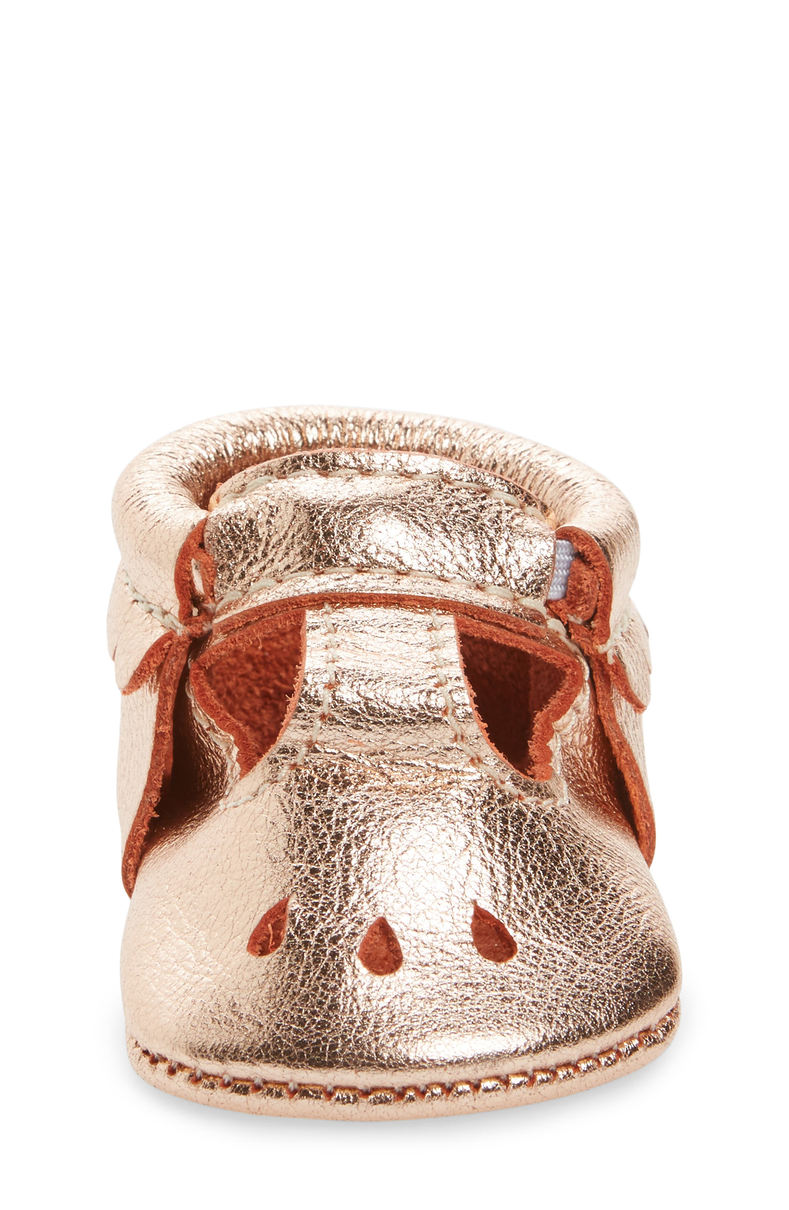 Perforated Mary Jane Moccasin,                             Alternate thumbnail 4, color,                             220