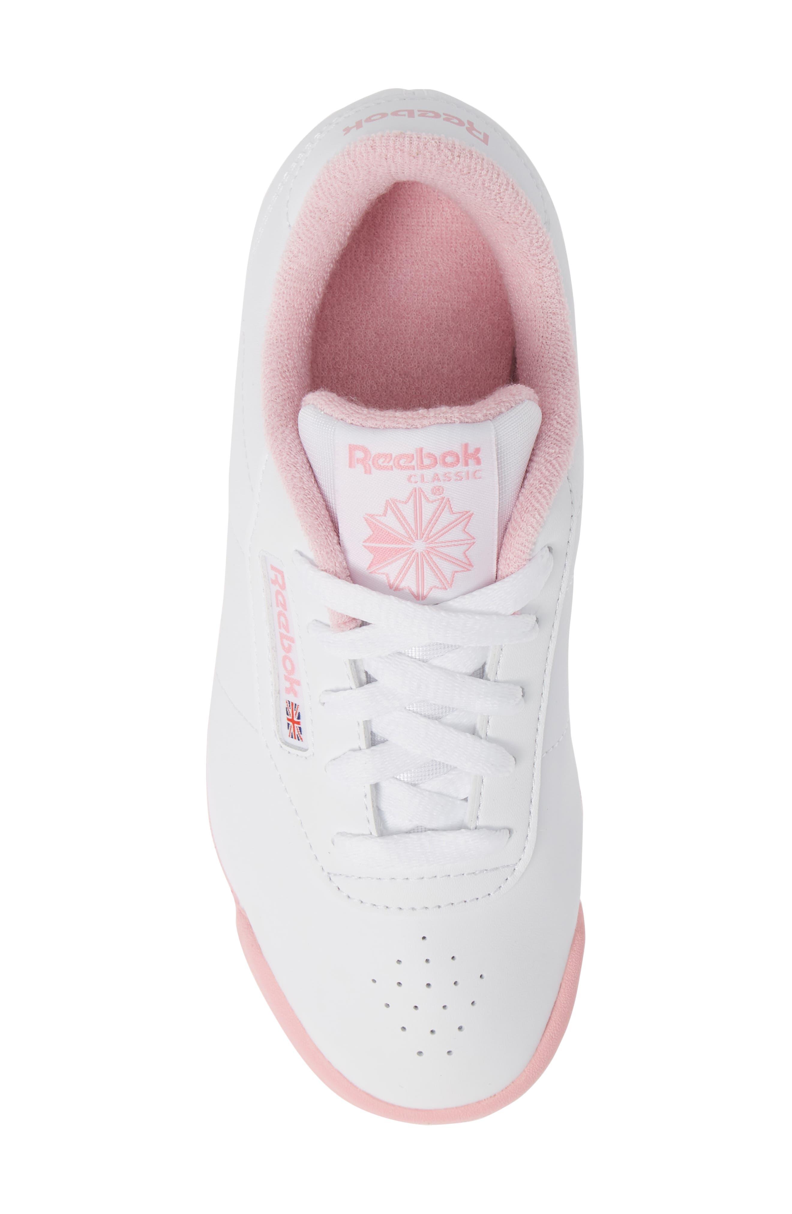 REEBOK,                             Princess Sneaker,                             Alternate thumbnail 5, color,                             100