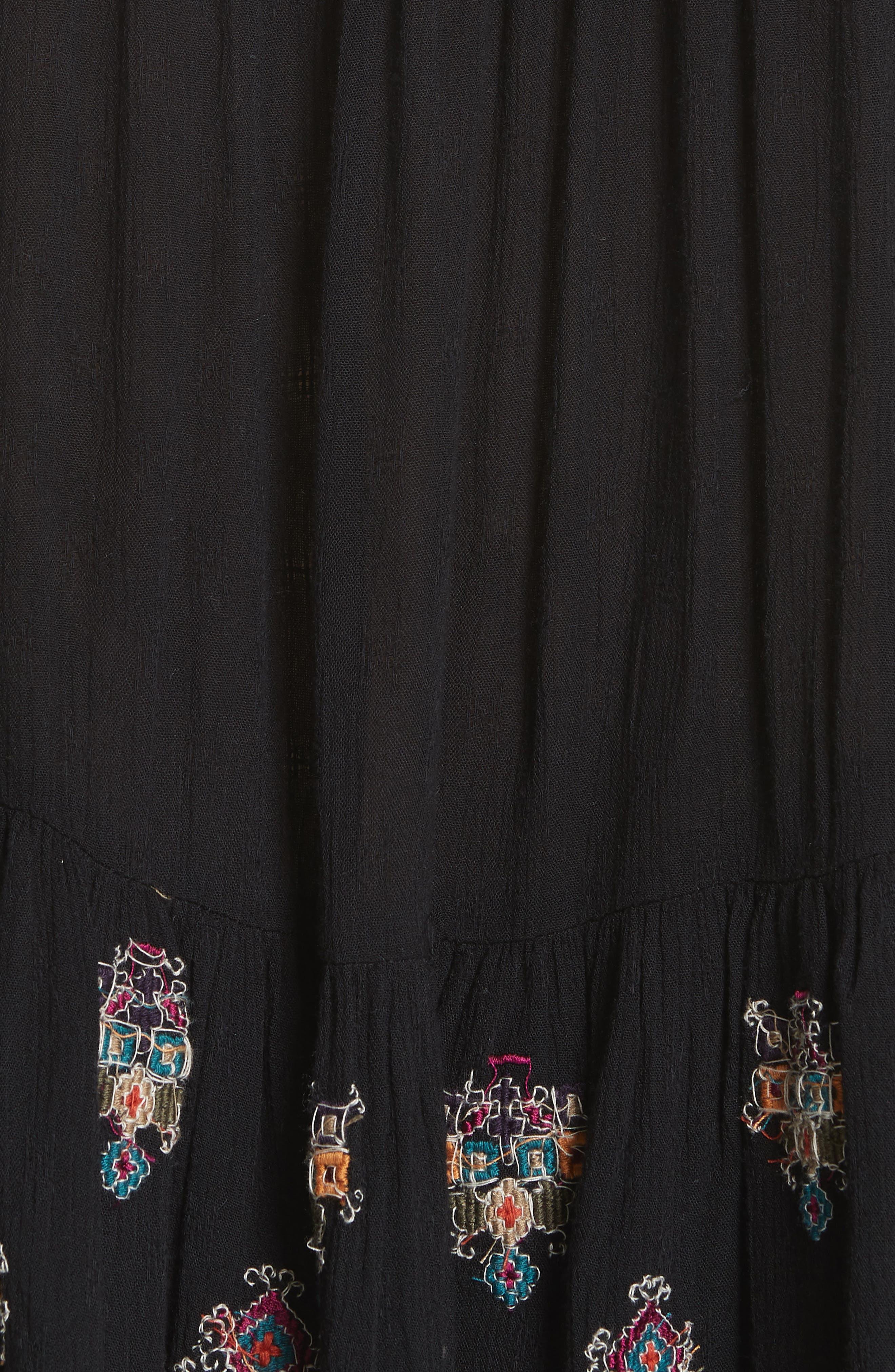Arianna Tunic,                             Alternate thumbnail 5, color,                             BLACK