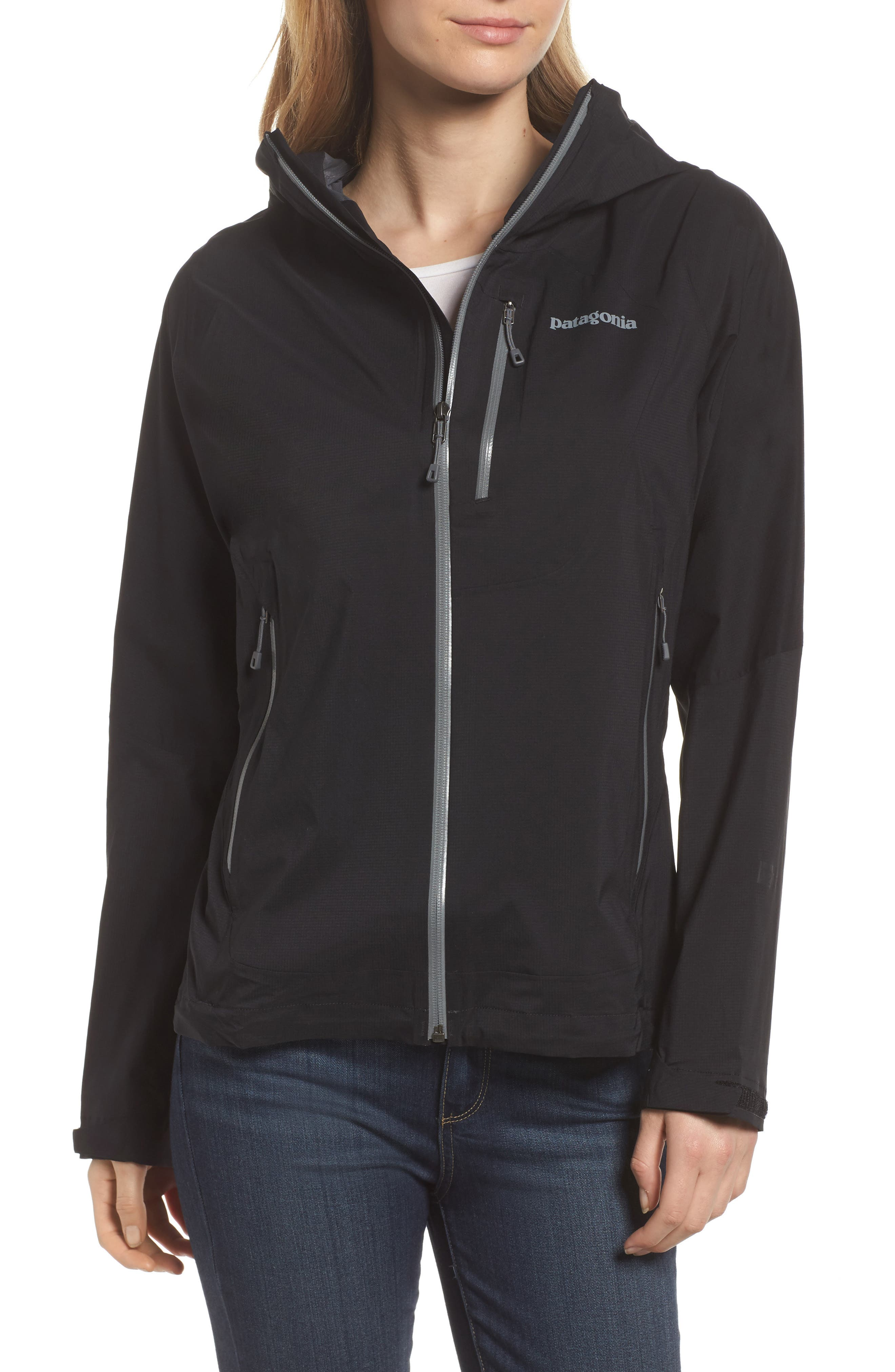 Stretch Rainshadow Jacket,                         Main,                         color, 001