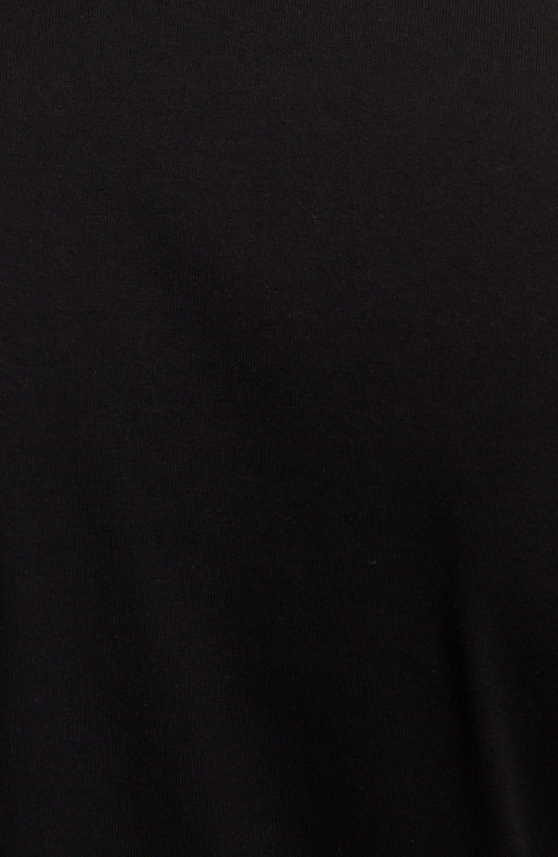 Inverted Heart Logo T-Shirt,                             Alternate thumbnail 8, color,                             BLACK
