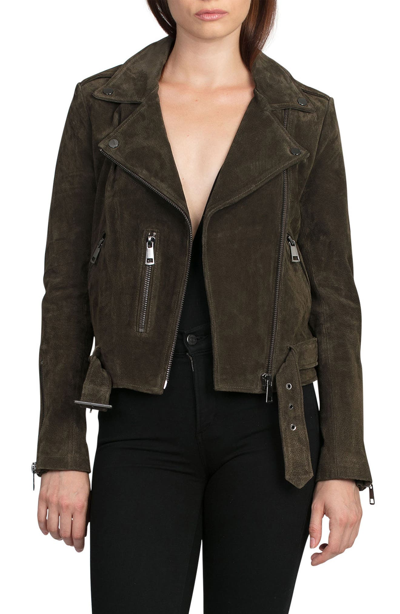NYC  Suede Jacket,                             Main thumbnail 4, color,