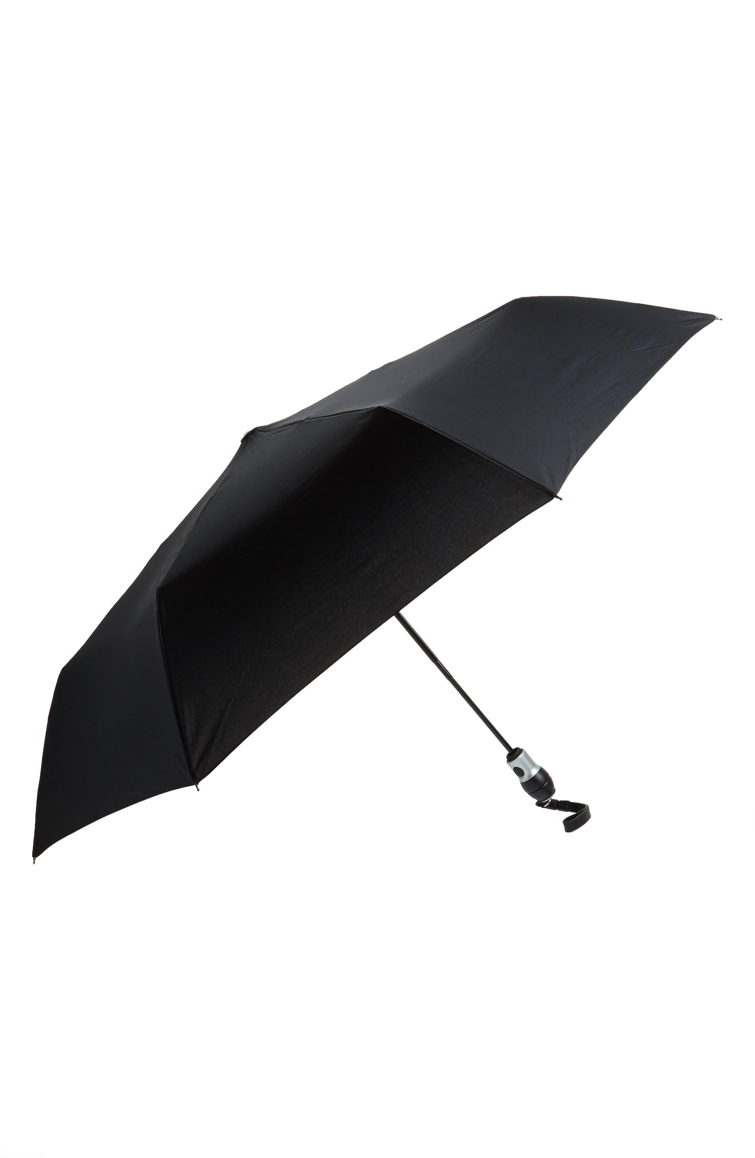 Large Umbrella,                             Main thumbnail 1, color,                             CLASSIC BLACK