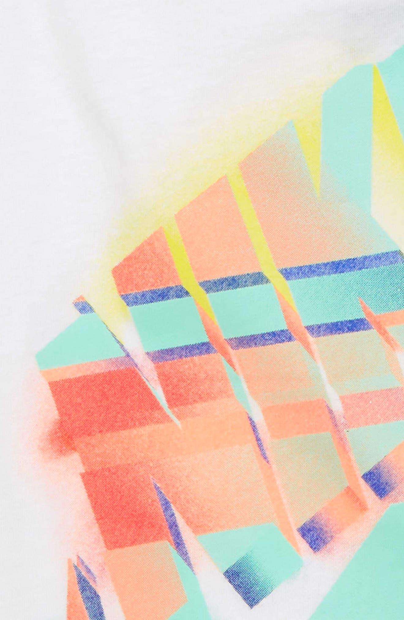 Desert Futura Graphic Tee,                             Alternate thumbnail 2, color,                             100