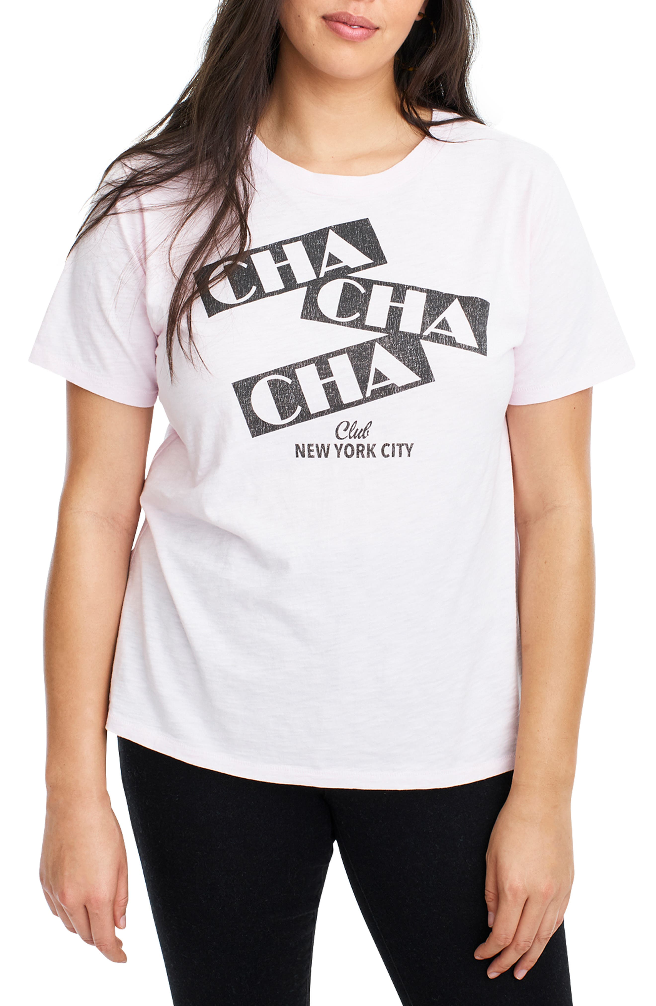 Cha Cha Cha Tee,                             Alternate thumbnail 2, color,                             PINK