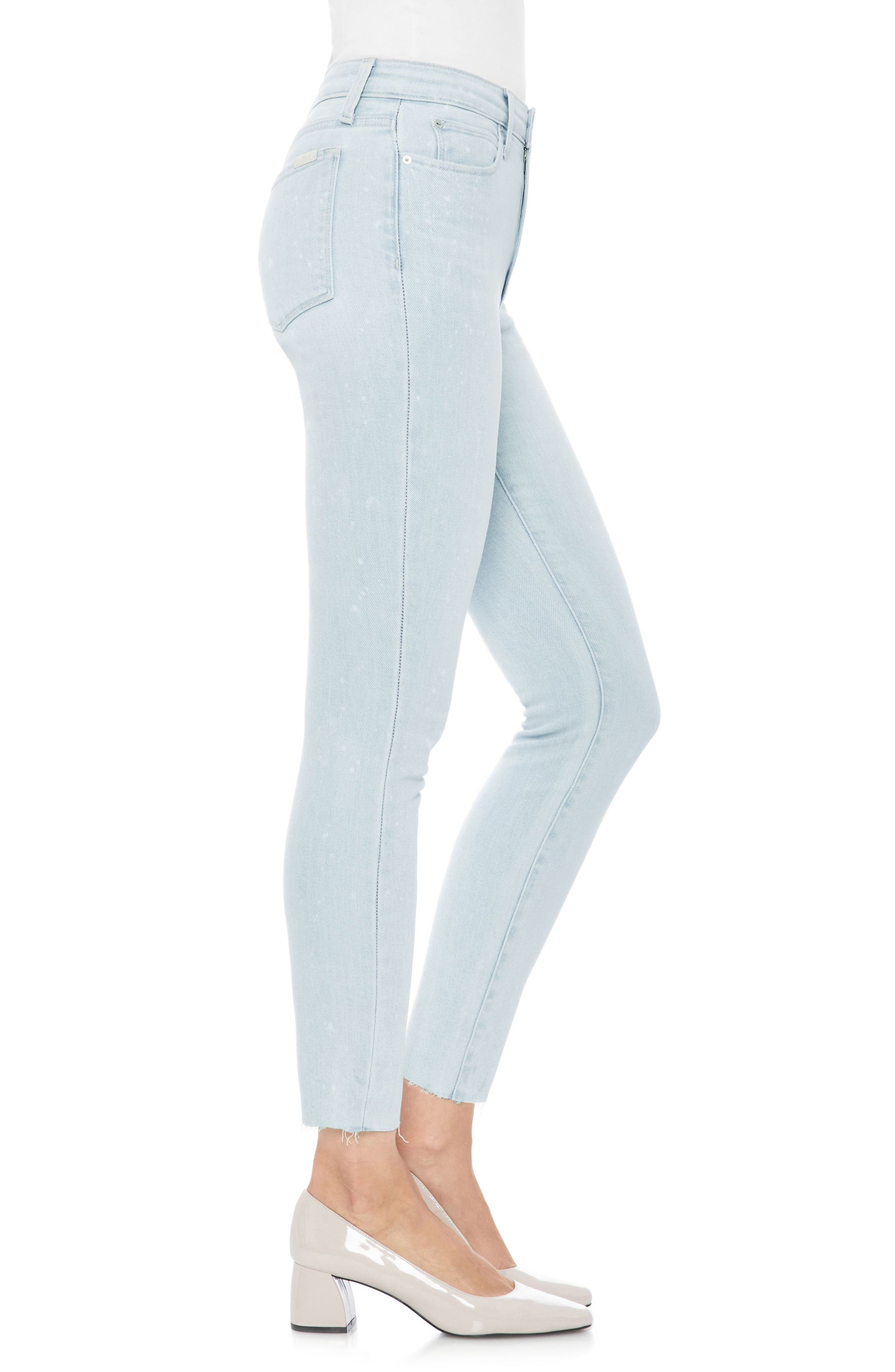 JOE'S,                             Flawless - Charlie High Waist Ankle Skinny Jeans,                             Alternate thumbnail 3, color,                             450
