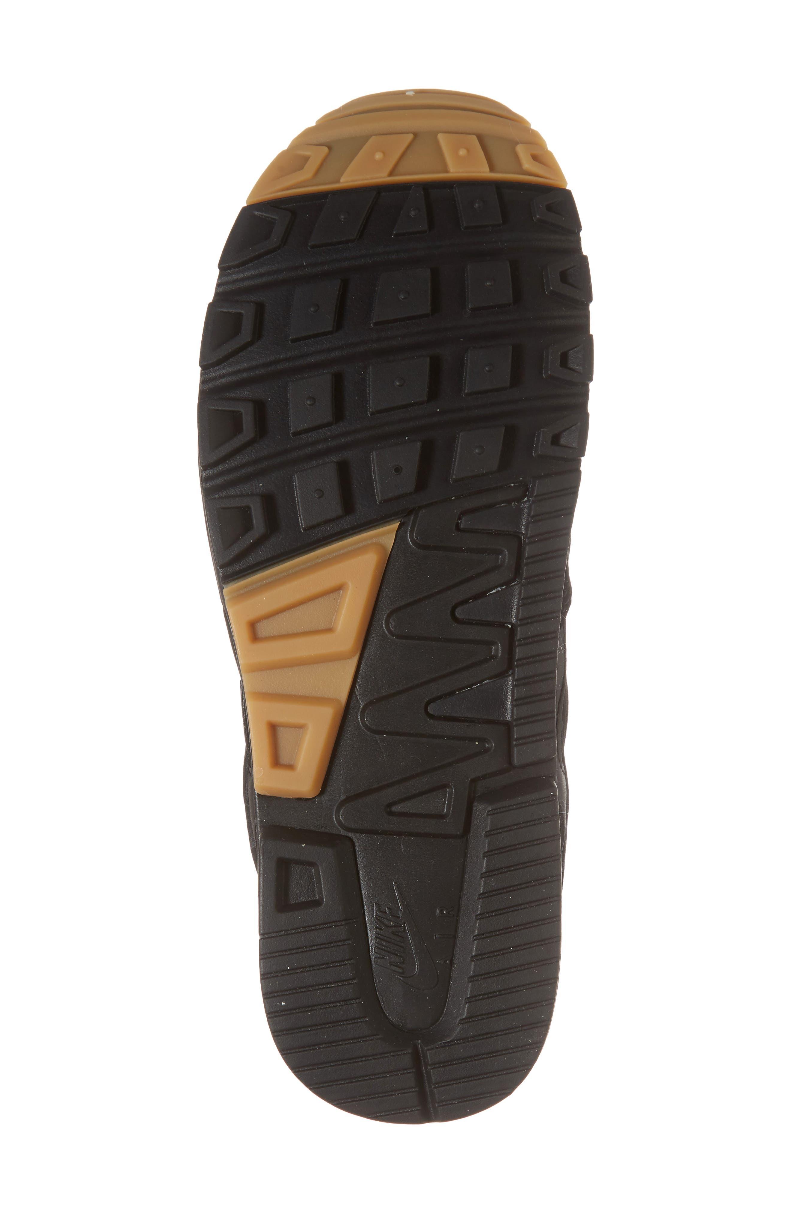 Air Span II Sneaker,                             Alternate thumbnail 6, color,                             BLACK/ BLACK/ BLACK