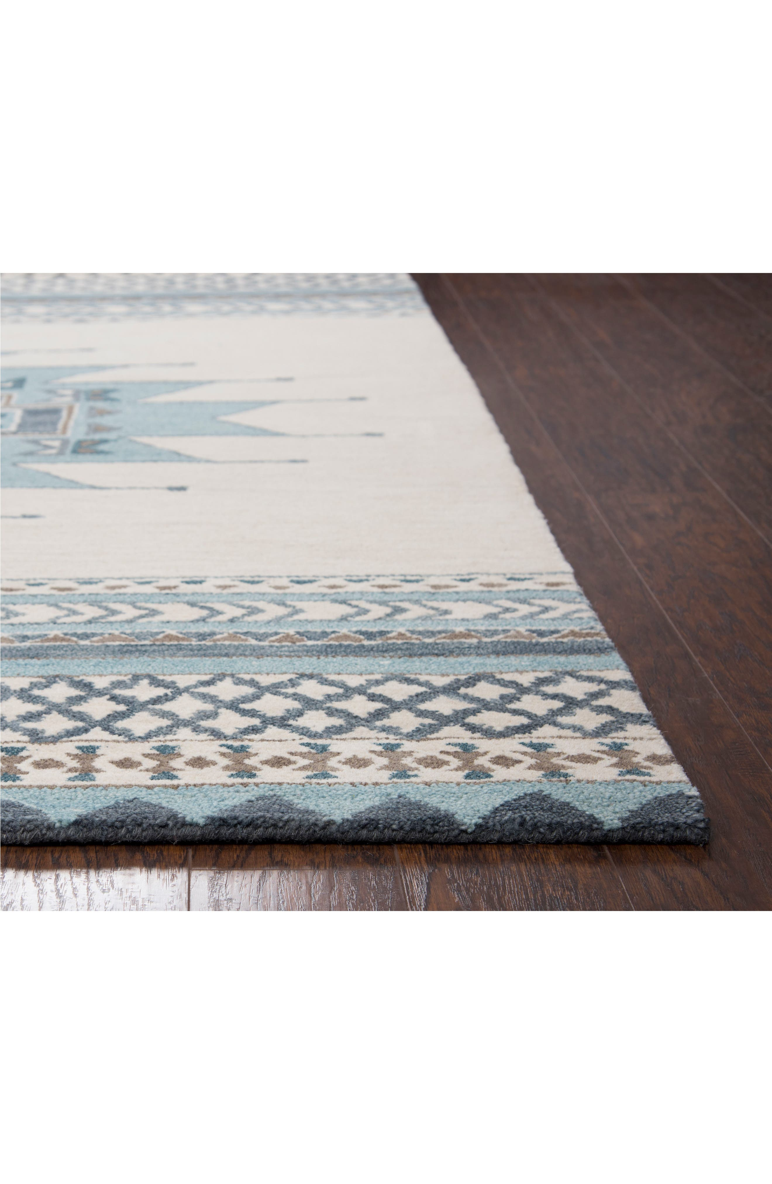 Hand Tufted Wool Blanket Rug,                             Alternate thumbnail 2, color,                             400