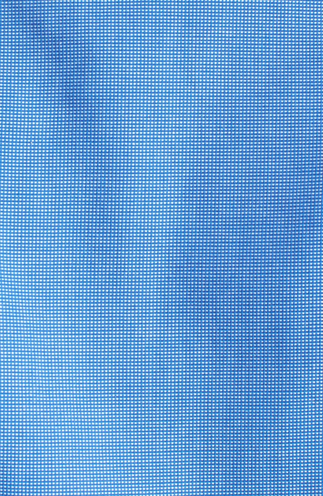 'Classic' Smartcare<sup>™</sup> Regular Fit Short Sleeve Cotton Sport Shirt,                             Alternate thumbnail 50, color,