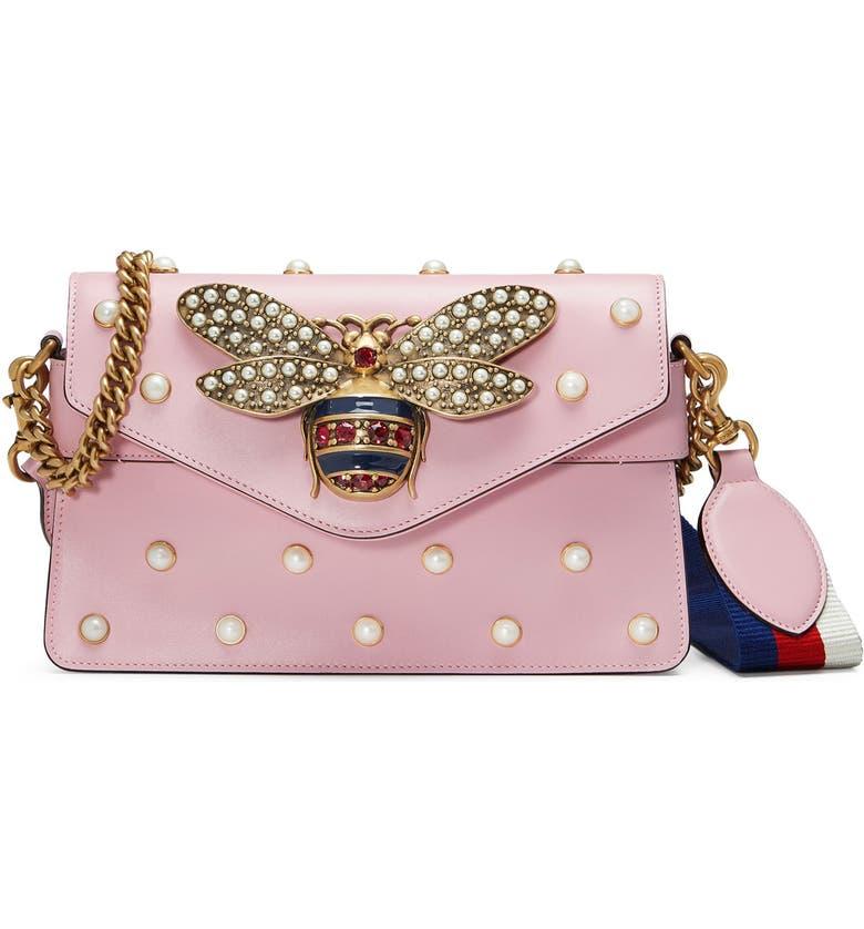 Gucci Mini Broadway Leather Shoulder Bag  0a953d6b8775e