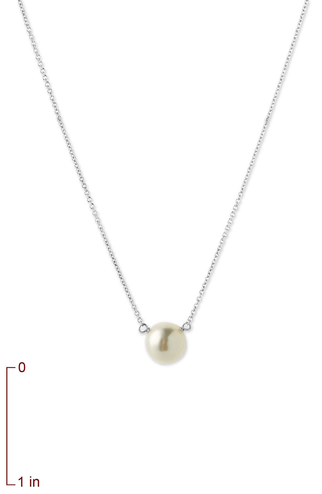 DOGEARED,                             Freshwater Pearl Pendant Necklace,                             Alternate thumbnail 5, color,                             040