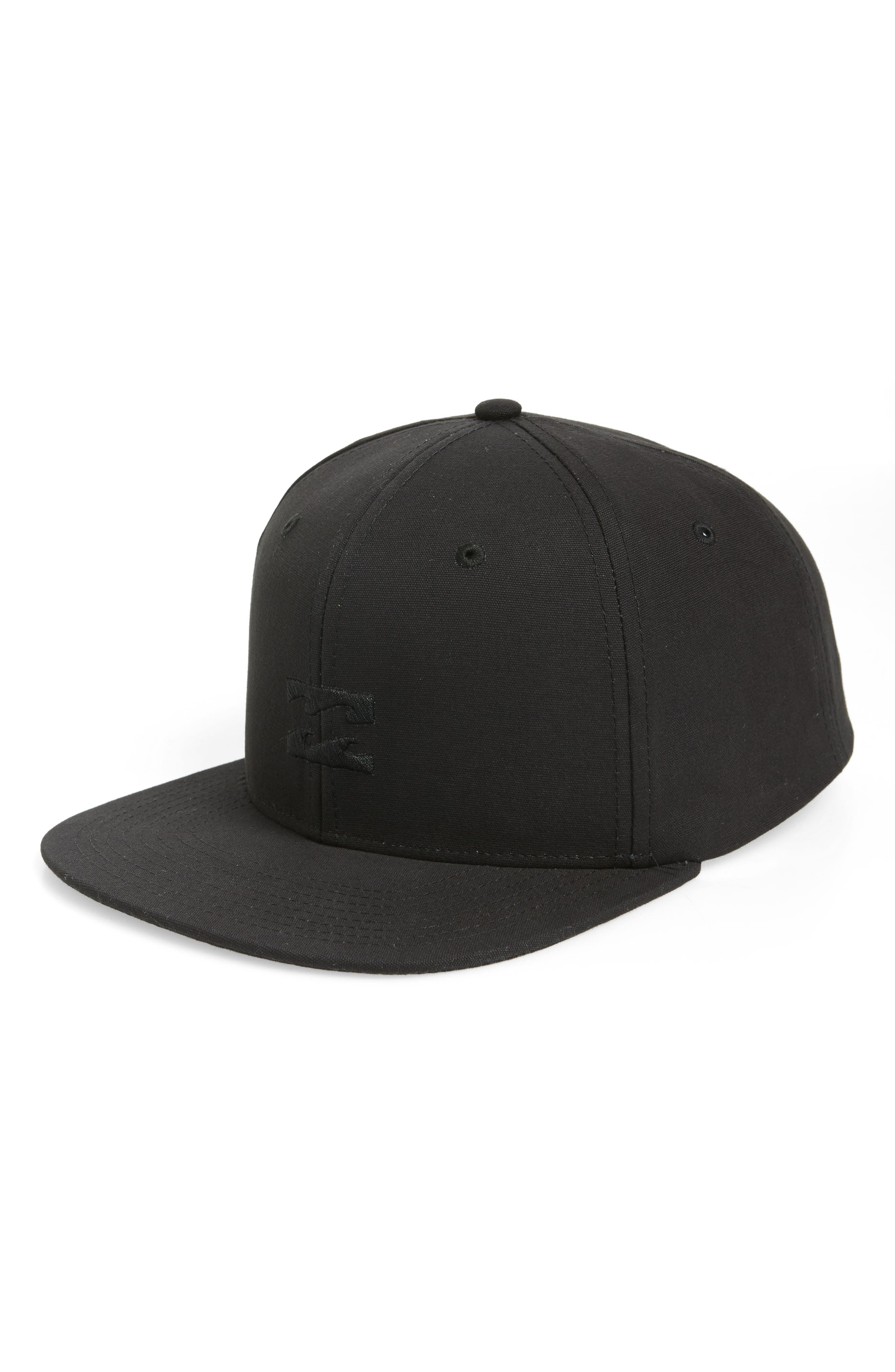 All Day Snapback Baseball Cap,                         Main,                         color, STEALTH