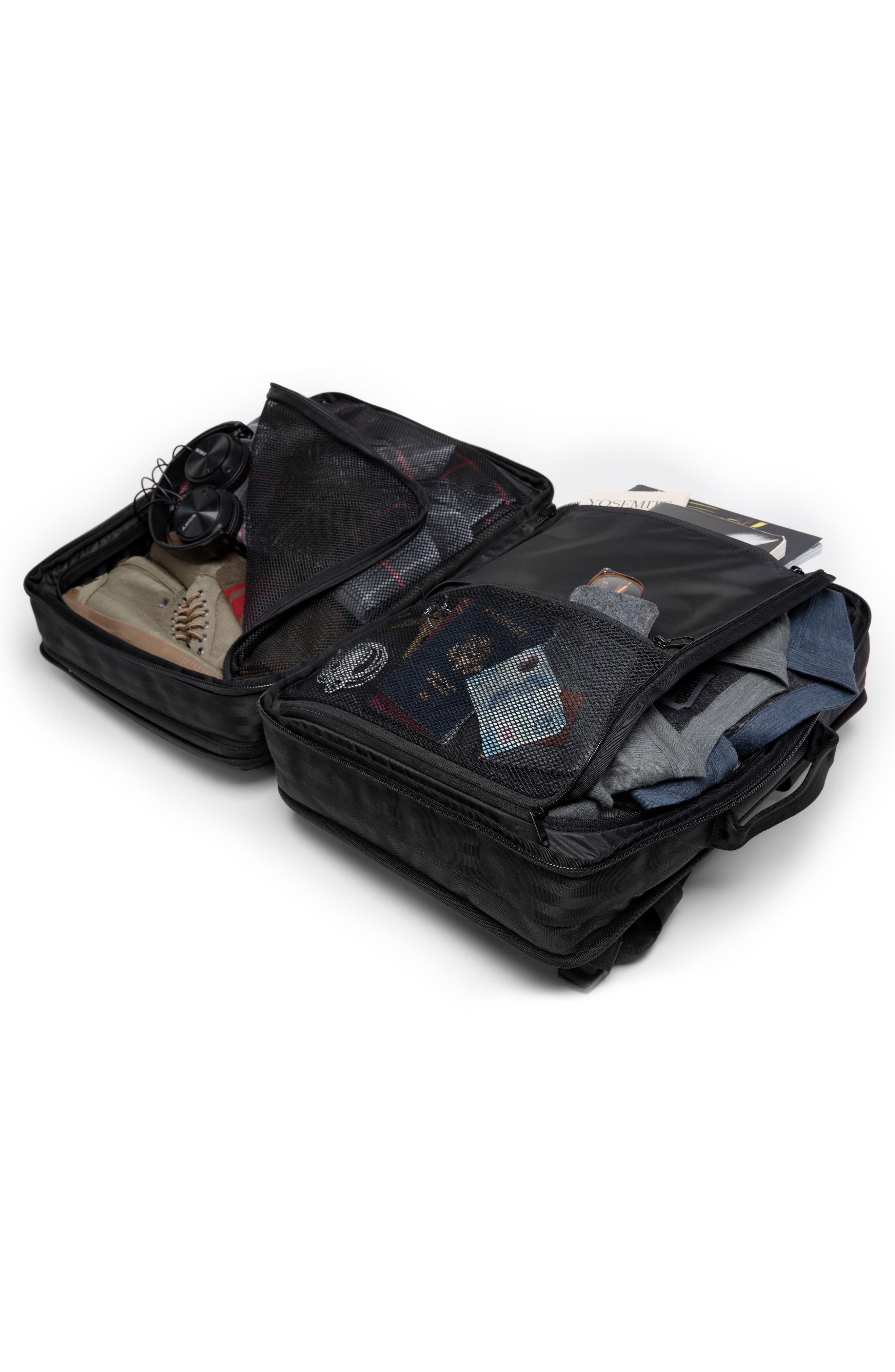 Macheto Travel Backpack,                             Alternate thumbnail 4, color,                             ALL BLACK