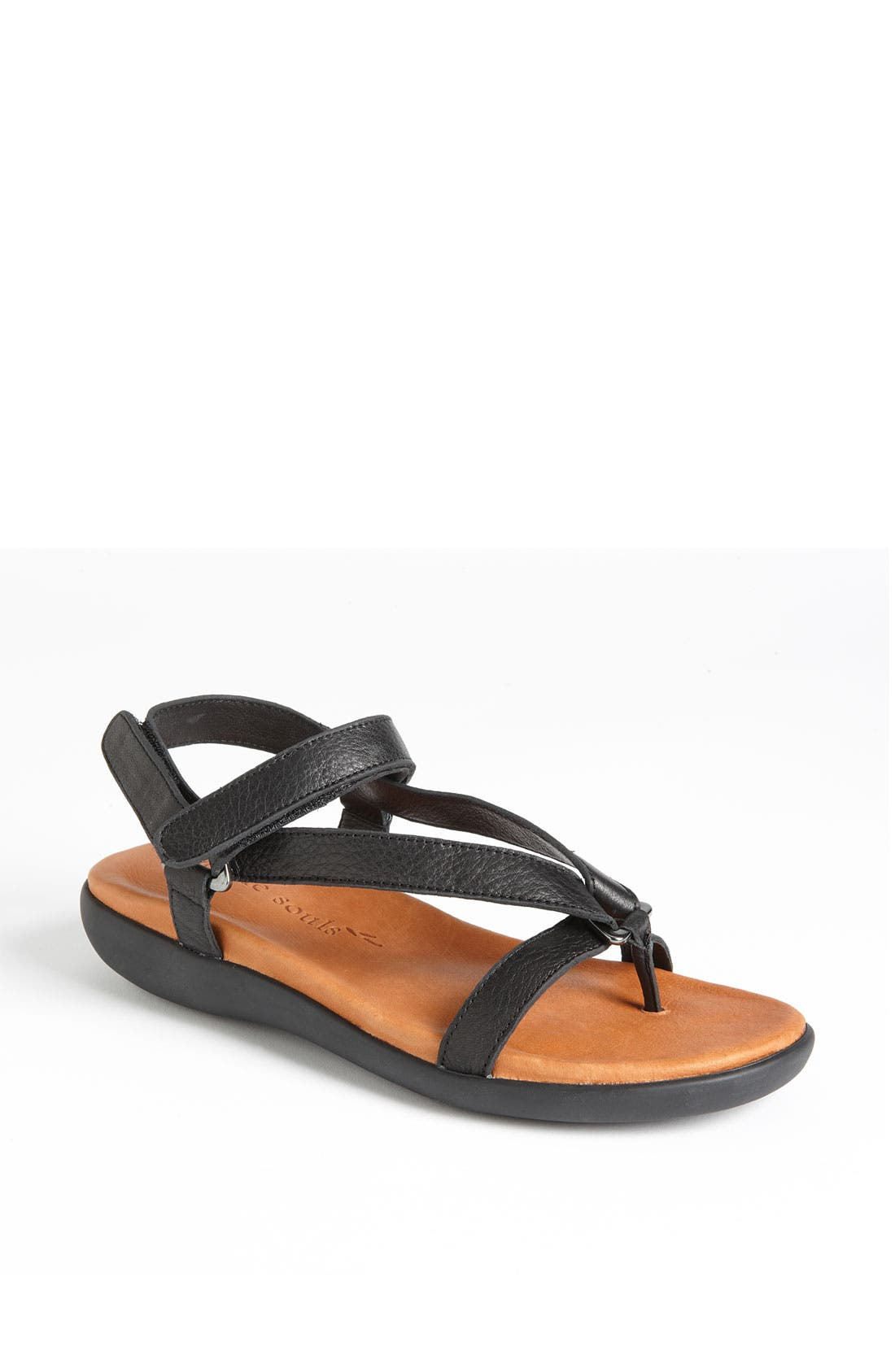 Gentle Souls 'Go Mingle' Sandal,                             Main thumbnail 1, color,                             001
