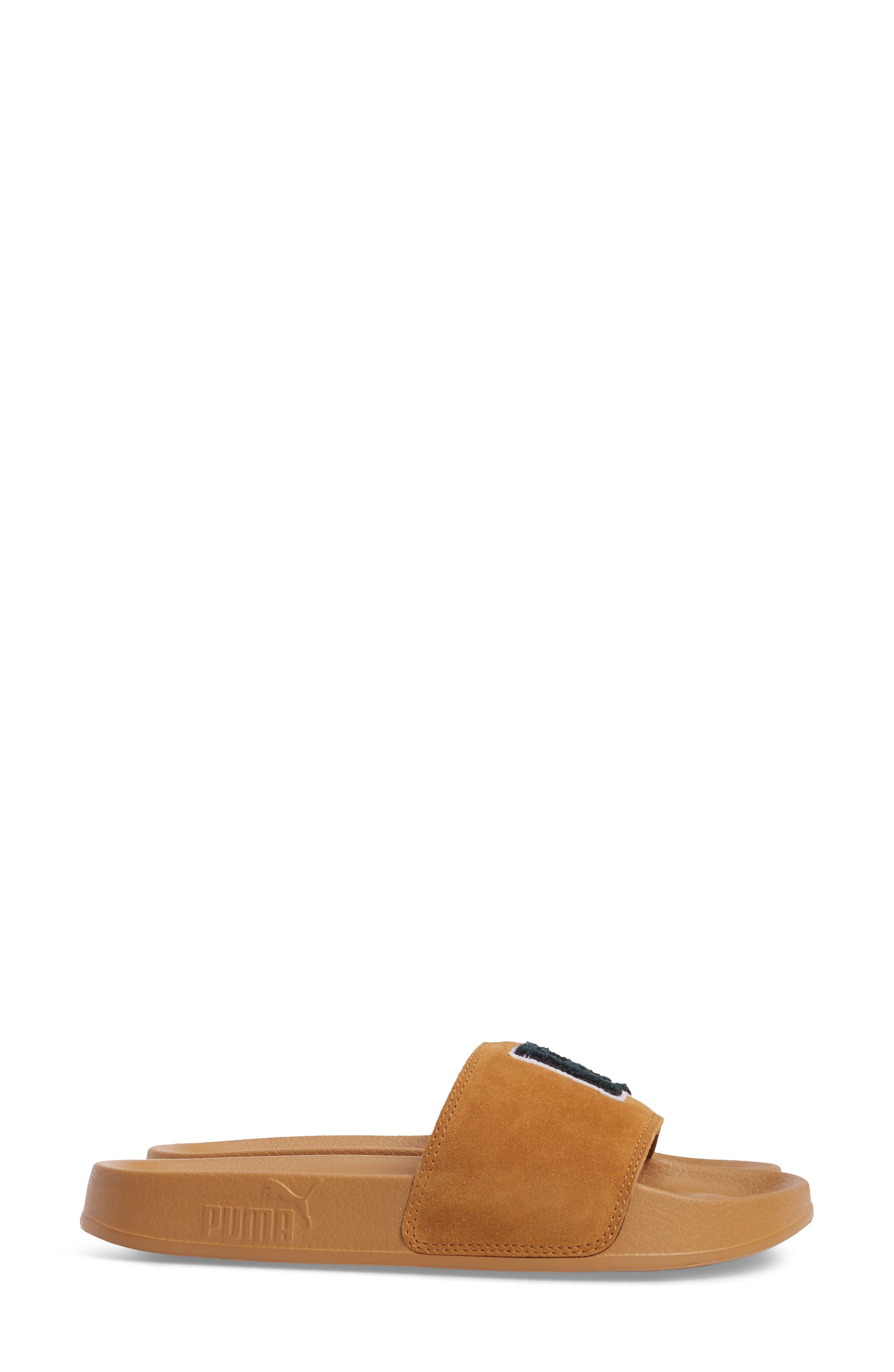 FENTY PUMA by Rihanna Lead Cat Slide Sandals,                             Alternate thumbnail 12, color,