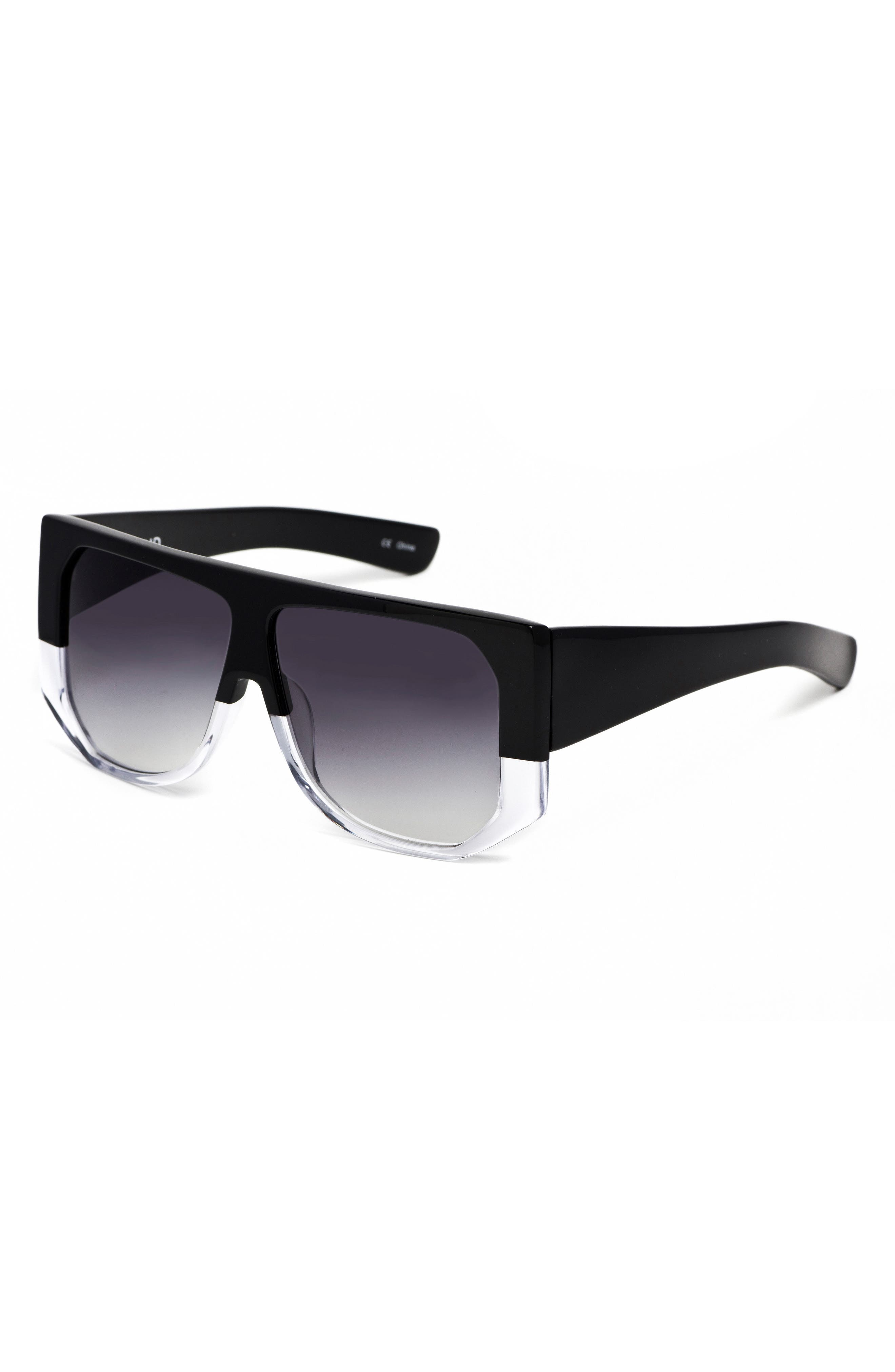 HADID,                             Frequent Flyer 58mm Sunglasses,                             Alternate thumbnail 4, color,                             001