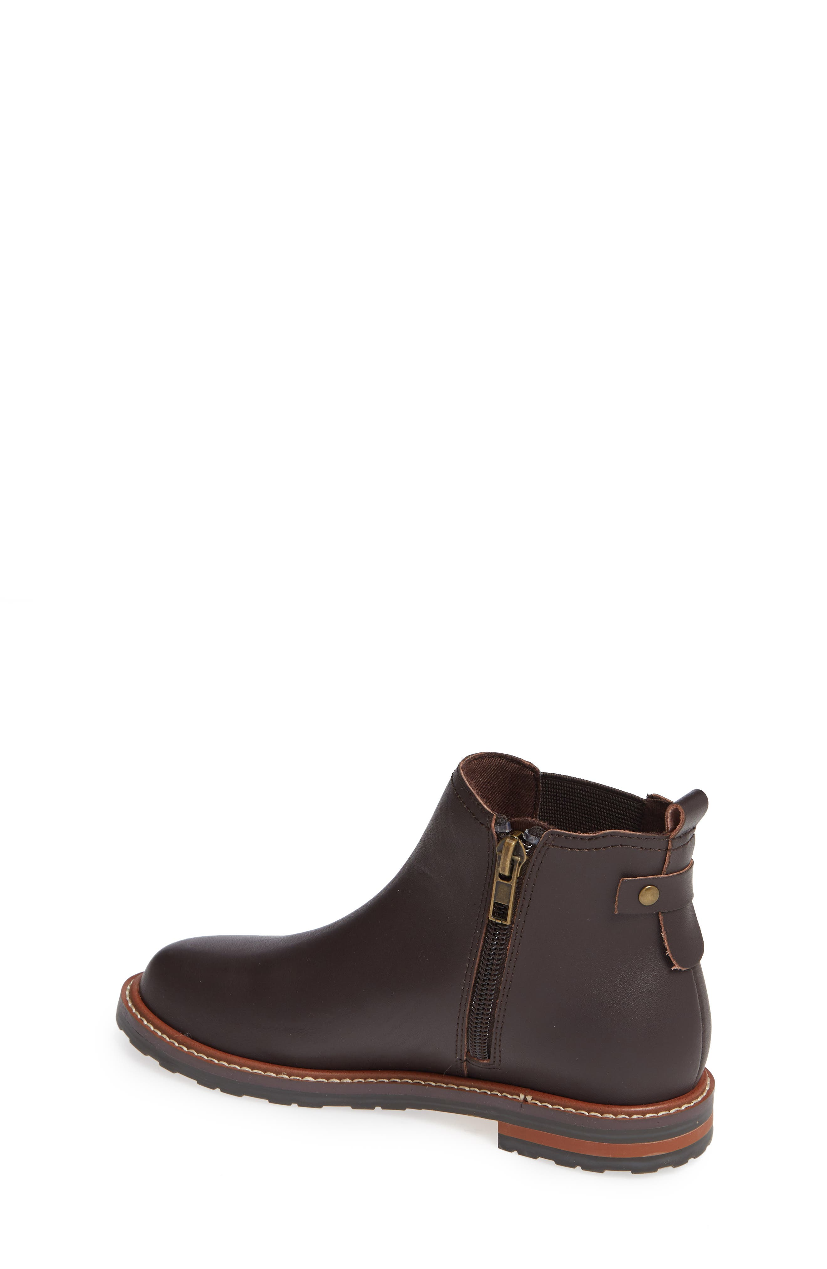 Chelsea Boot,                             Alternate thumbnail 2, color,                             CHOCOLATE OILED LEATHER