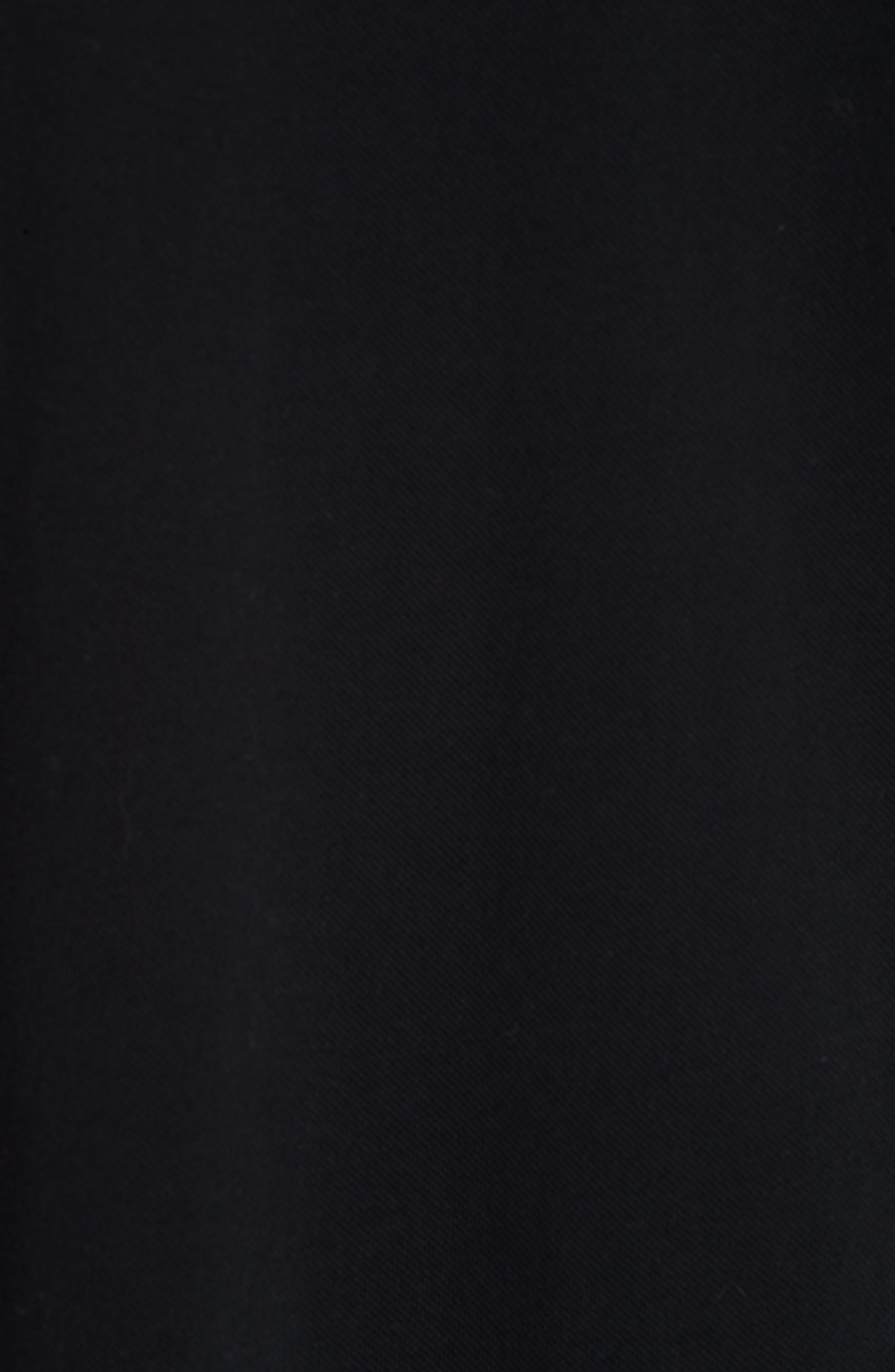COMME DES GARÇONS PLAY,                             Black Heart Piqué Polo,                             Alternate thumbnail 5, color,                             BLACK 1