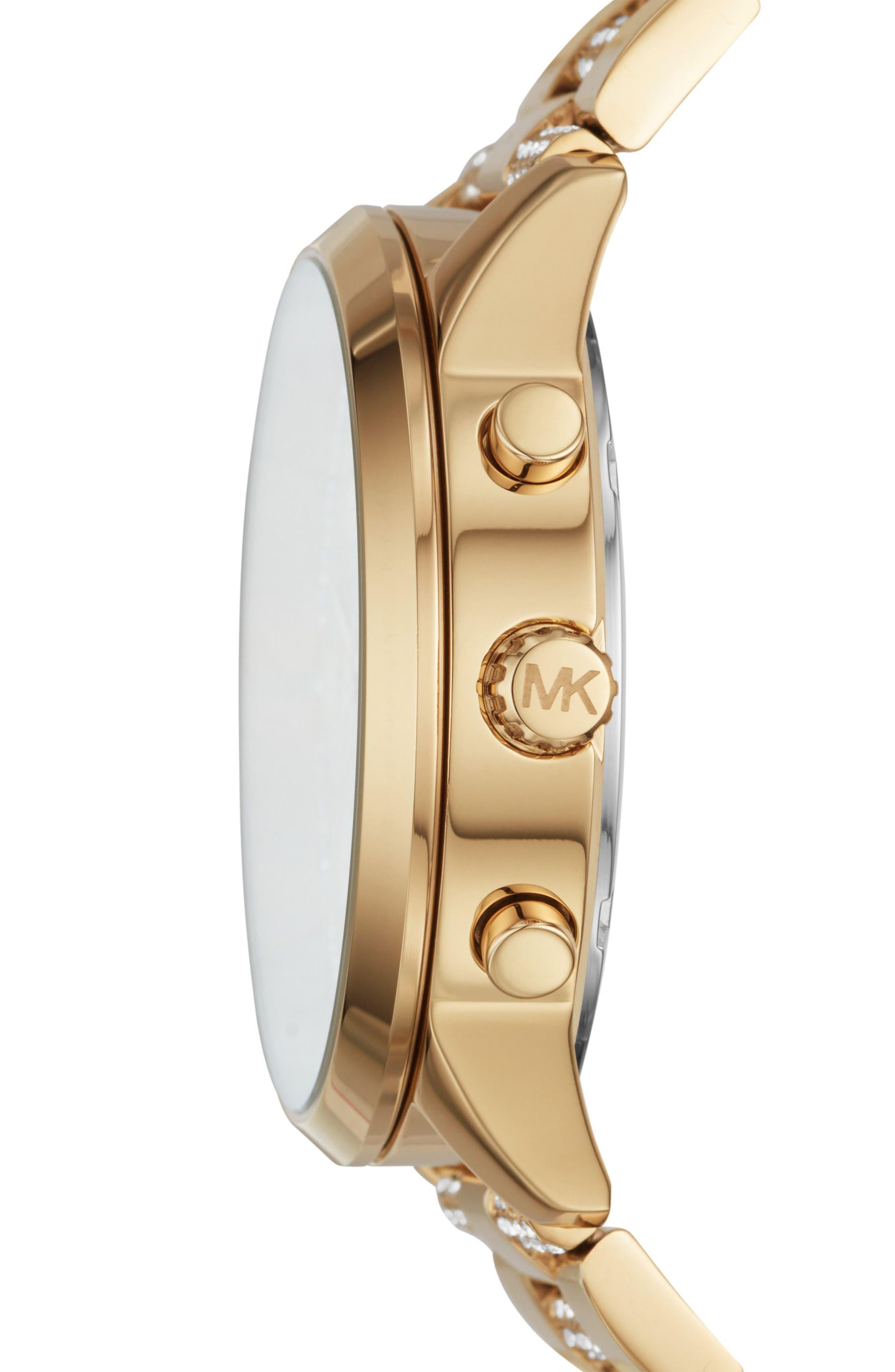 Slater Chronograph Bracelet Watch, 40mm,                             Alternate thumbnail 9, color,