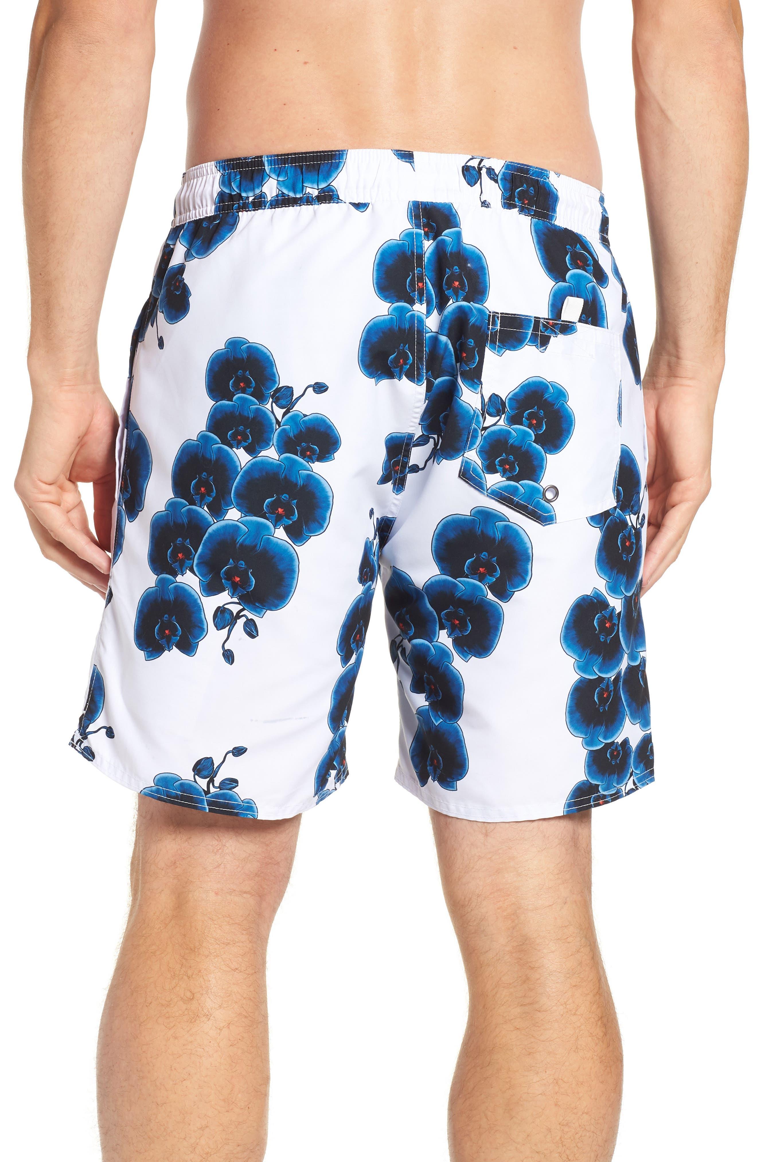 Timothy Orchid Swim Shorts,                             Alternate thumbnail 2, color,                             110