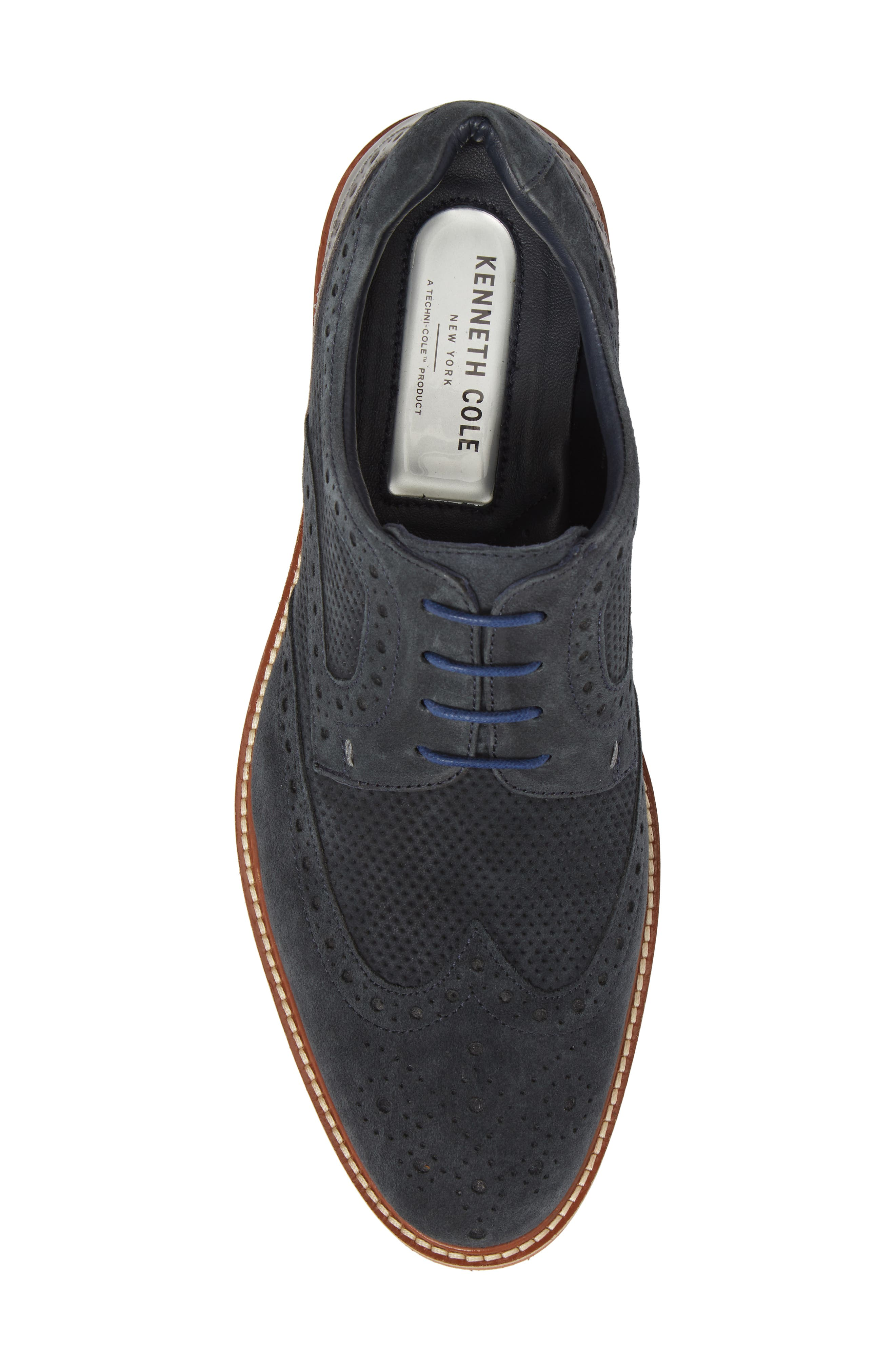 Shaw Perforated Wingtip Derby,                             Alternate thumbnail 10, color,