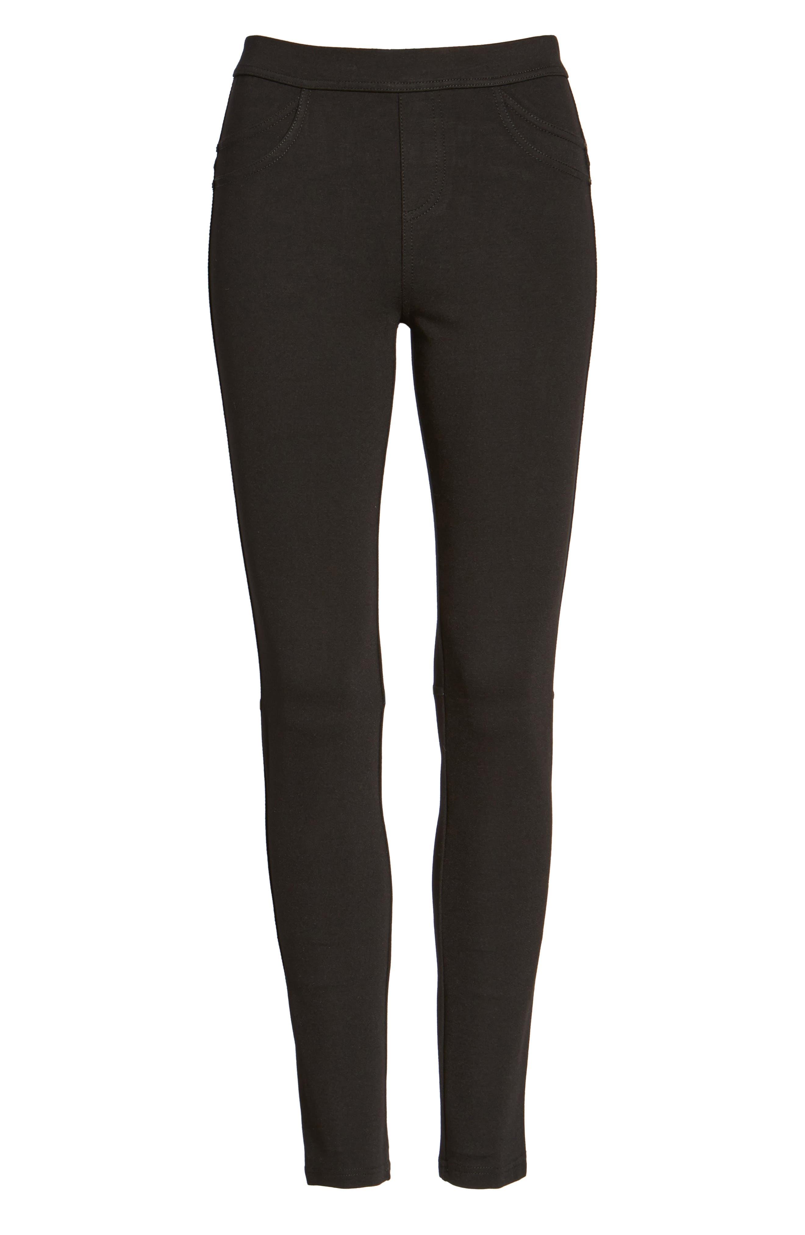 Grease Leggings,                         Main,                         color, BLACK
