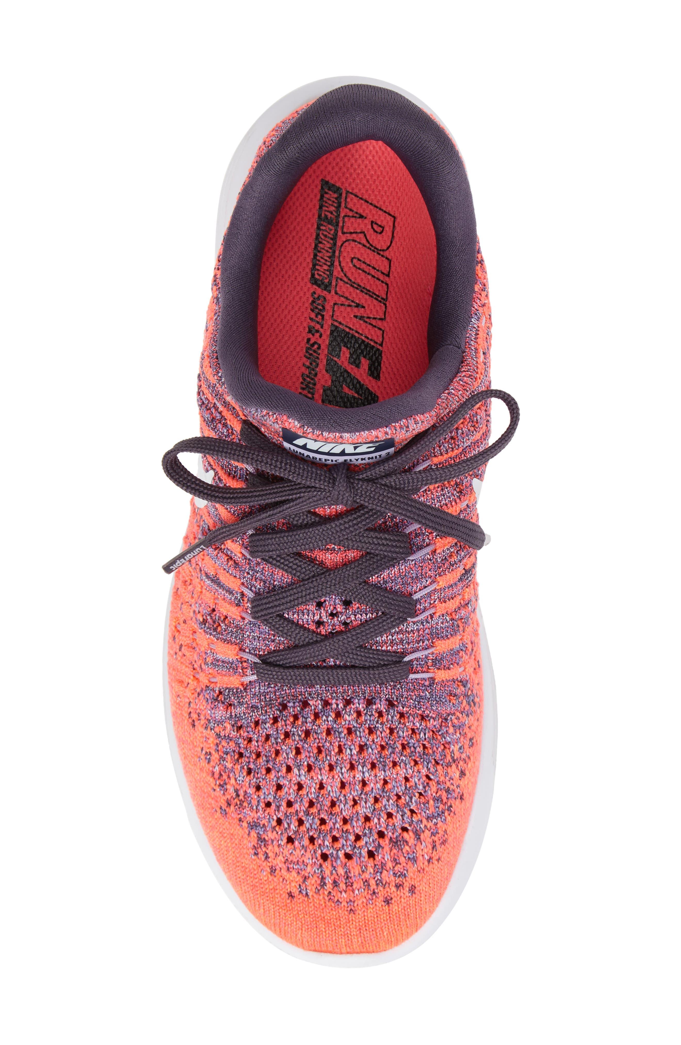 LunarEpic Low Flyknit 2 Running Shoe,                             Alternate thumbnail 83, color,