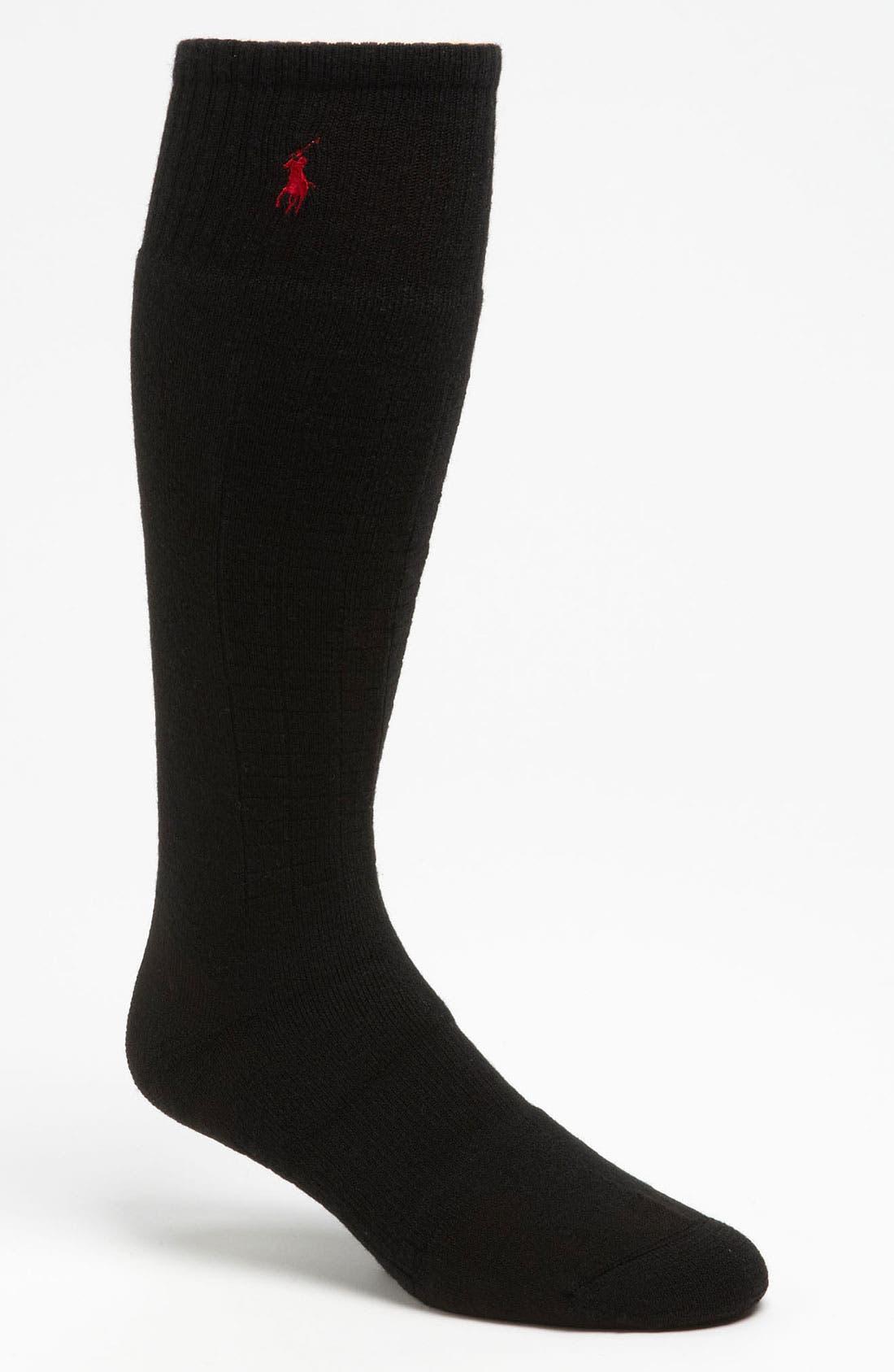 Long Ski Socks,                             Main thumbnail 1, color,                             001