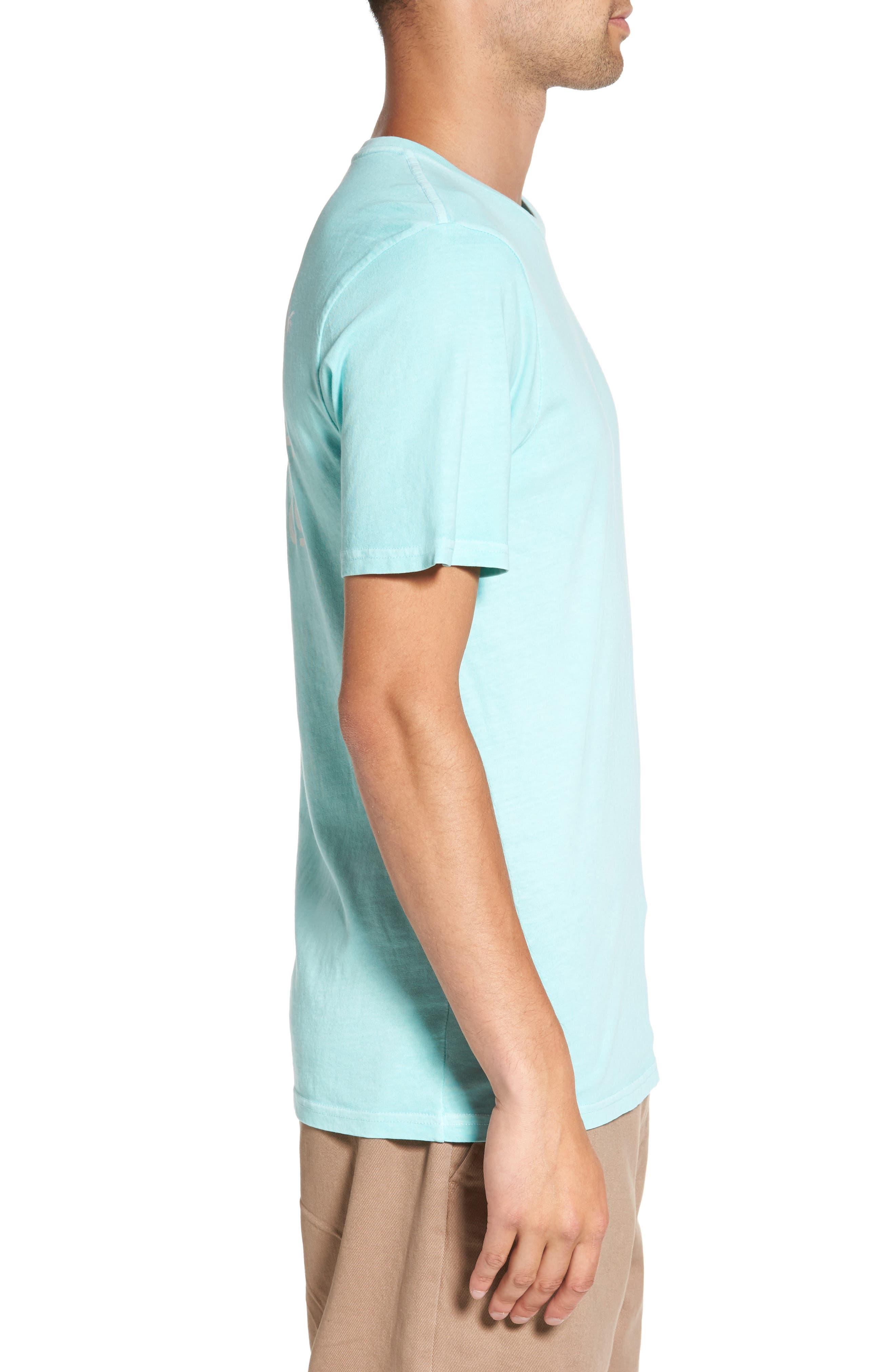California Classic Co. Overdye T-Shirt,                             Alternate thumbnail 3, color,                             400