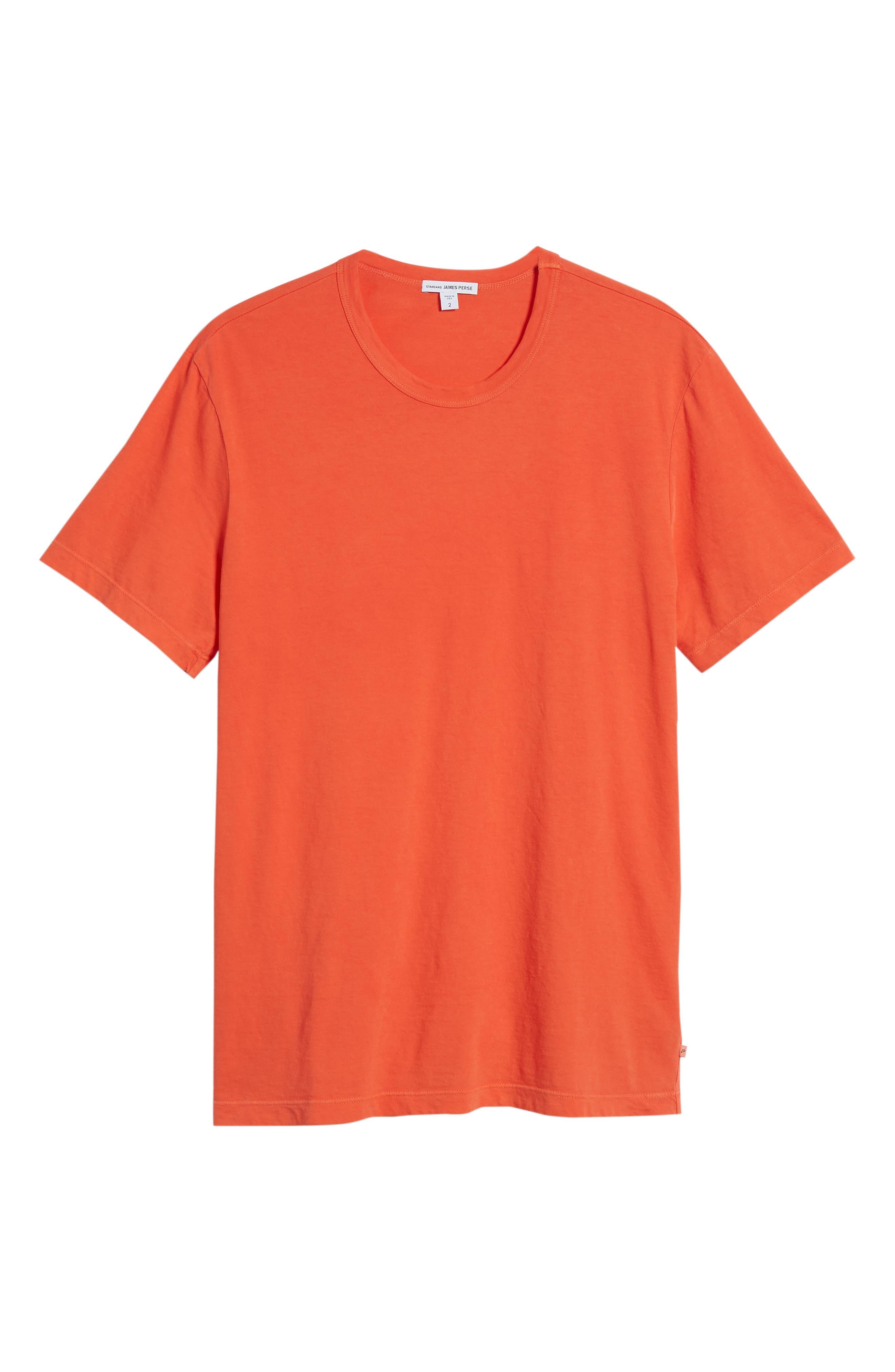 Crewneck Jersey T-Shirt,                             Alternate thumbnail 476, color,