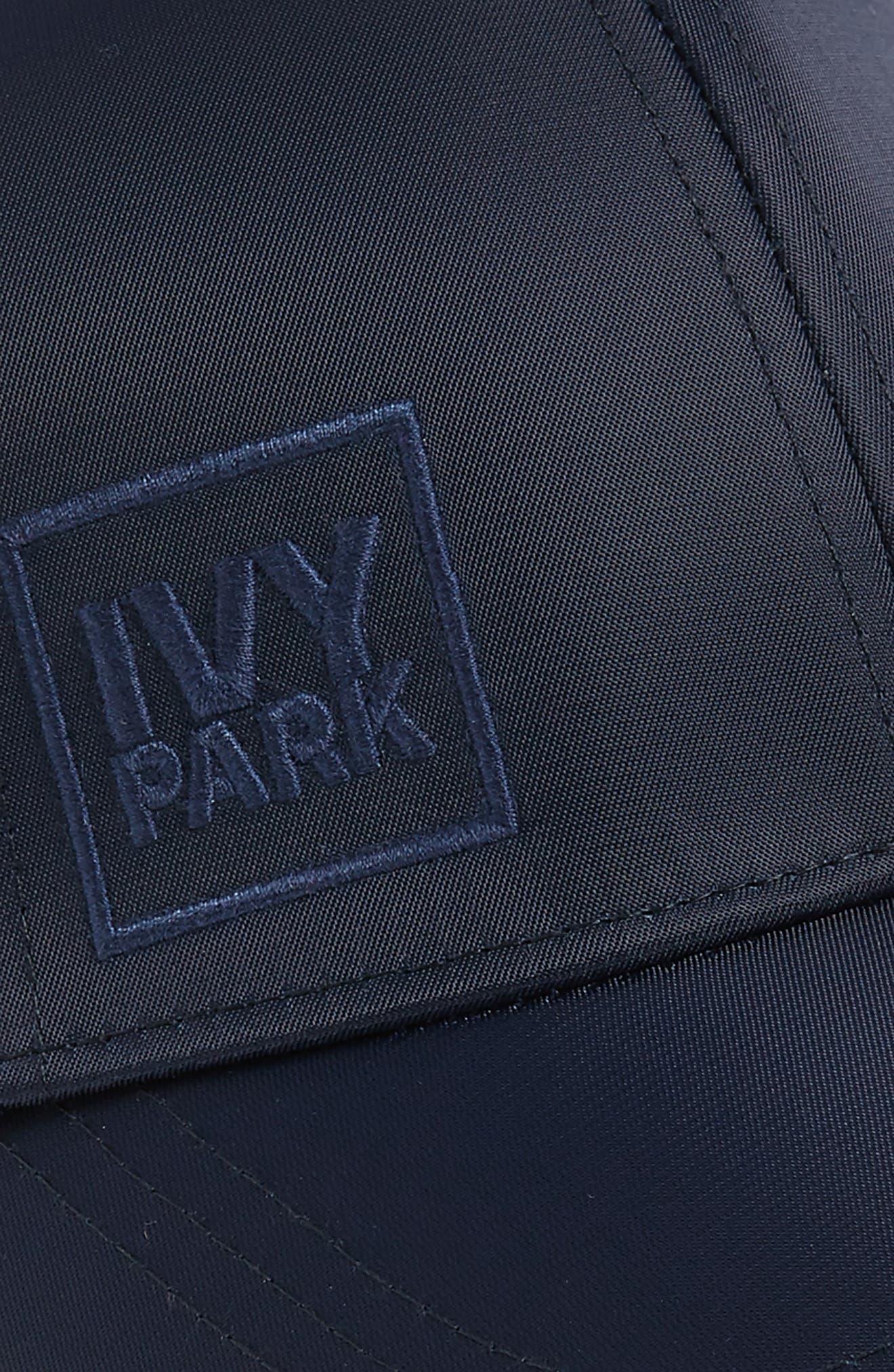 IVY PARK<SUP>®</SUP>,                             High Shine Backless Cap,                             Alternate thumbnail 3, color,                             400