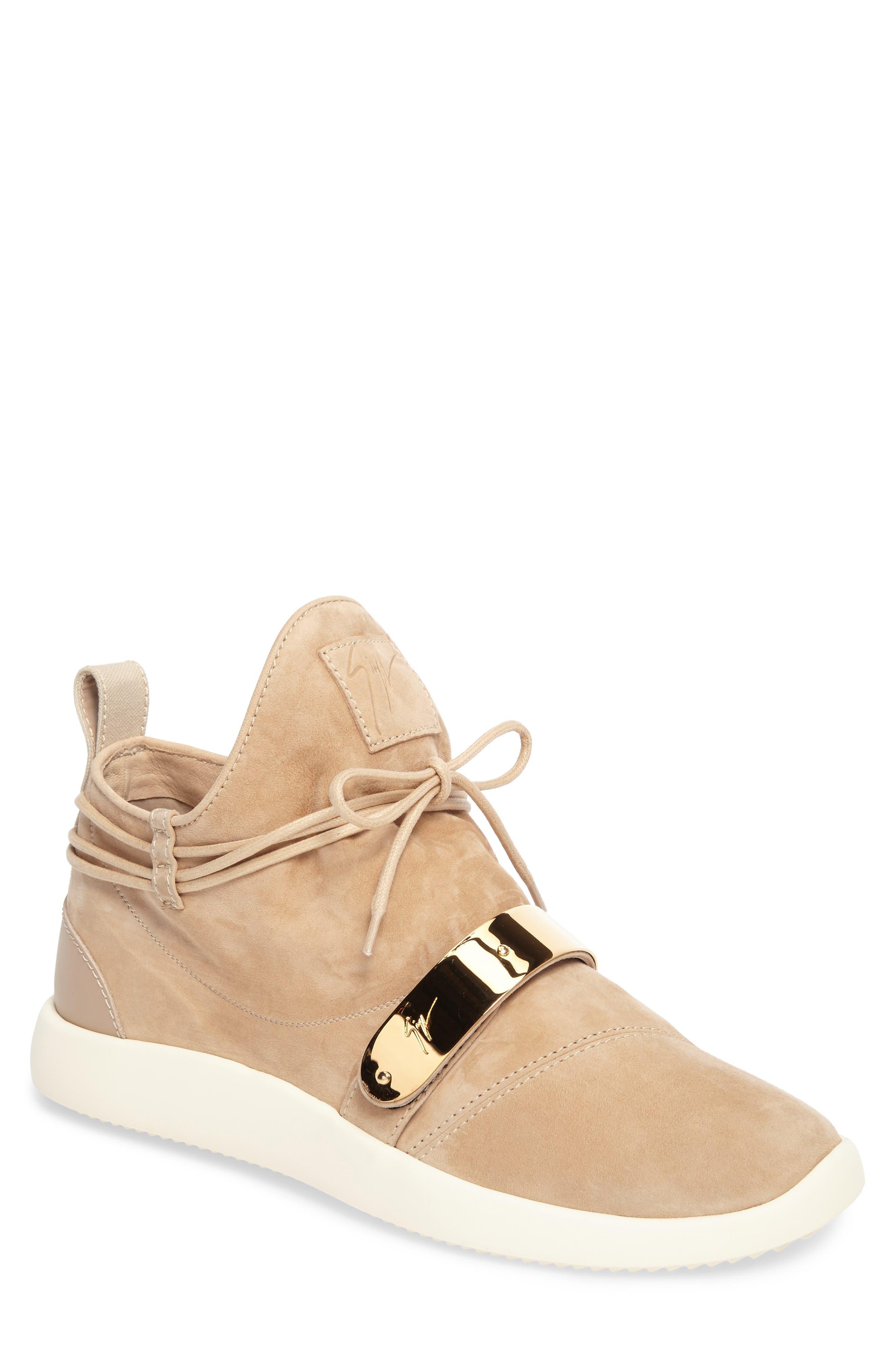 Gold Bar Mid-Top Sneaker,                             Main thumbnail 1, color,                             238