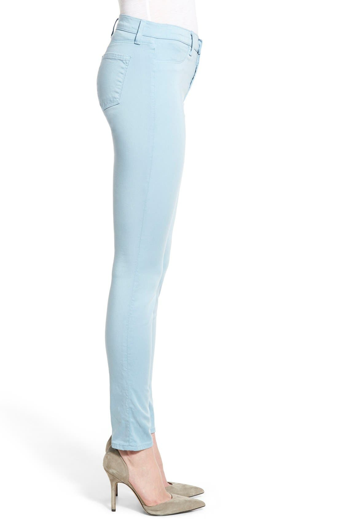 High Waist Ankle Super Skinny Jeans,                             Alternate thumbnail 54, color,