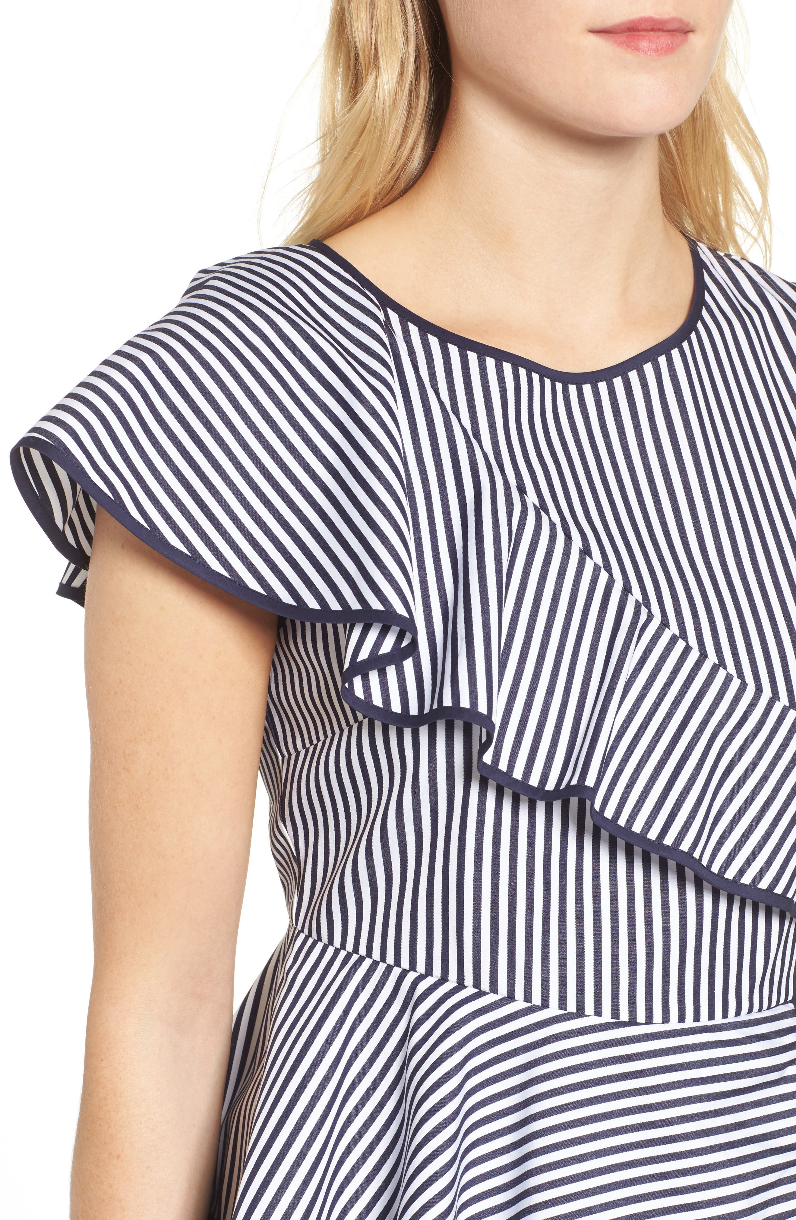 Carly Ruffle Top,                             Alternate thumbnail 4, color,                             479