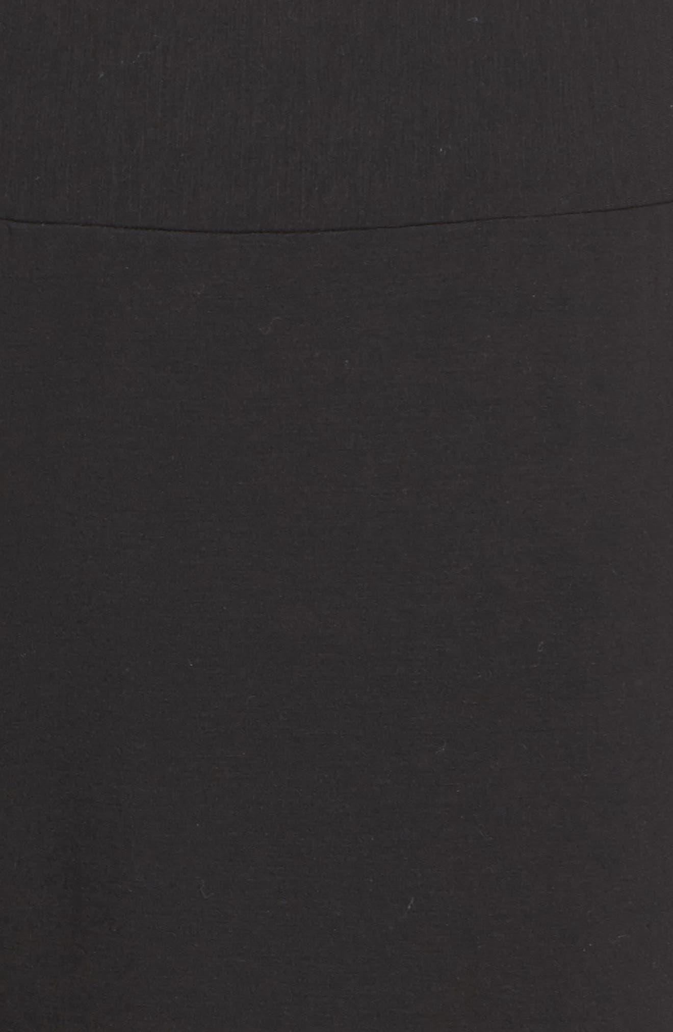 Butter & Satin Tuxedo Jogger Pants,                             Alternate thumbnail 5, color,                             002