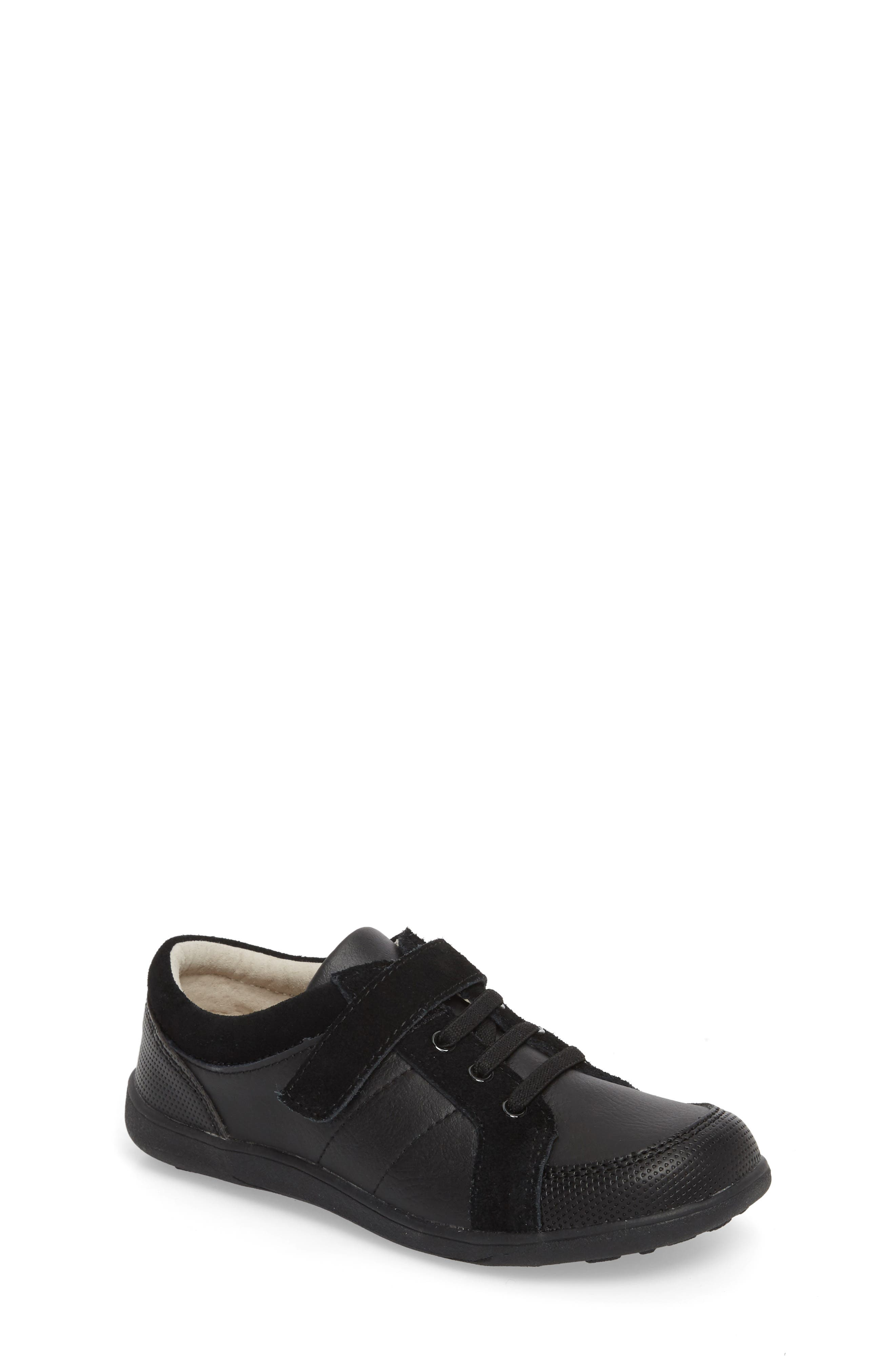 Randal III Sneaker,                         Main,                         color, BLACK