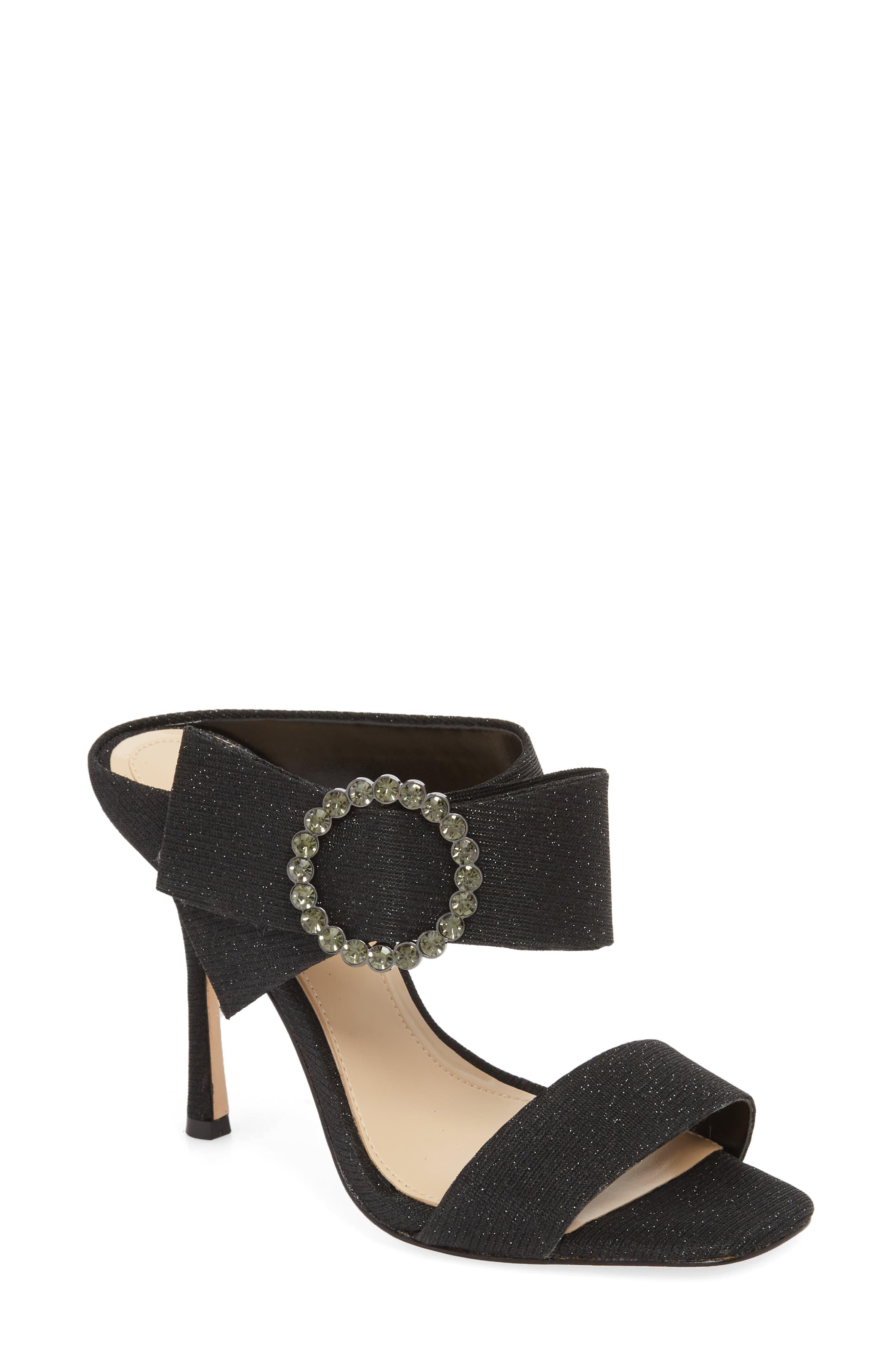 Westcott Sandal,                         Main,                         color, BLACK FABRIC