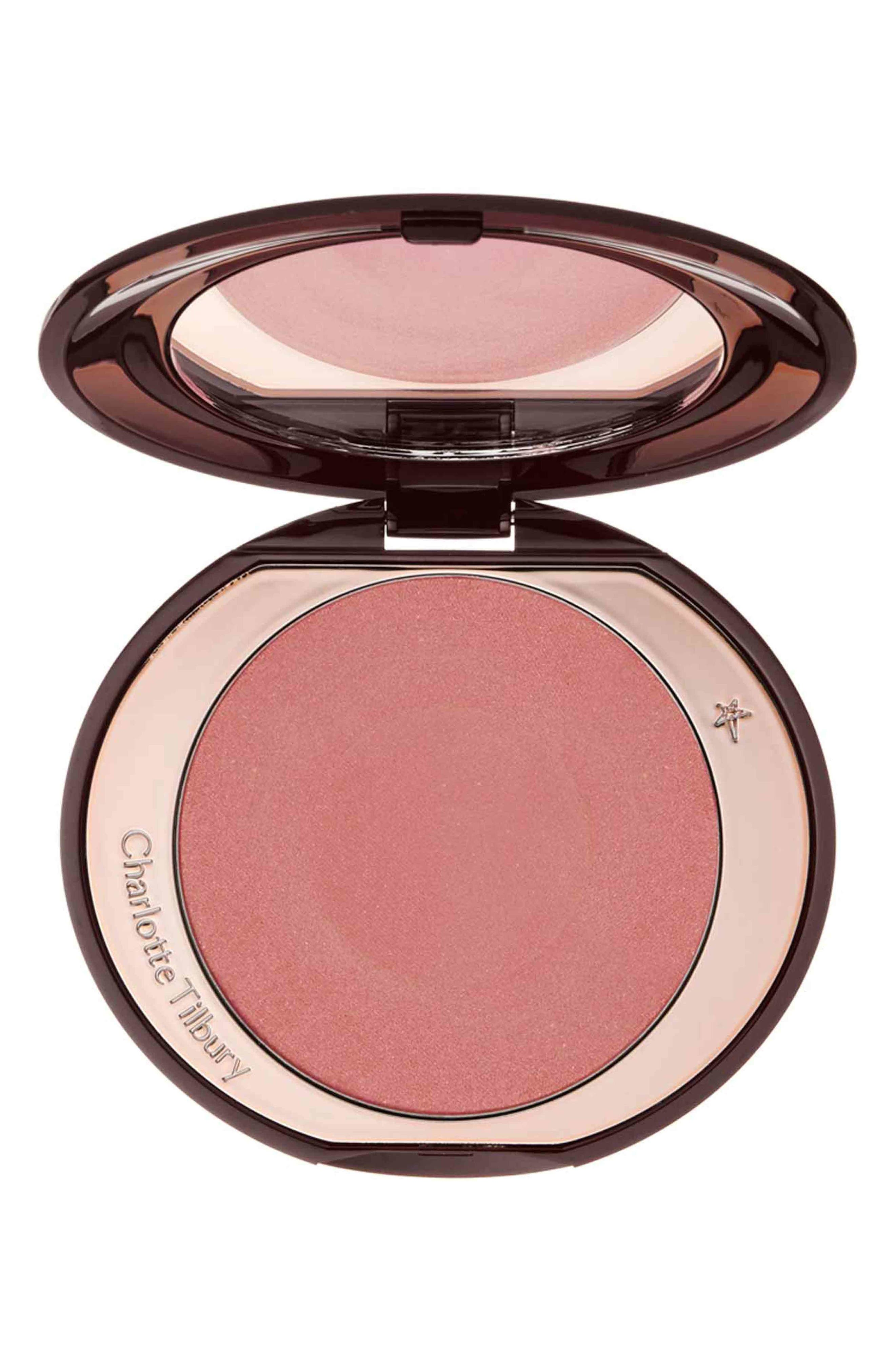 Cheek to Chic Blush,                             Main thumbnail 1, color,                             LOVE GLOW