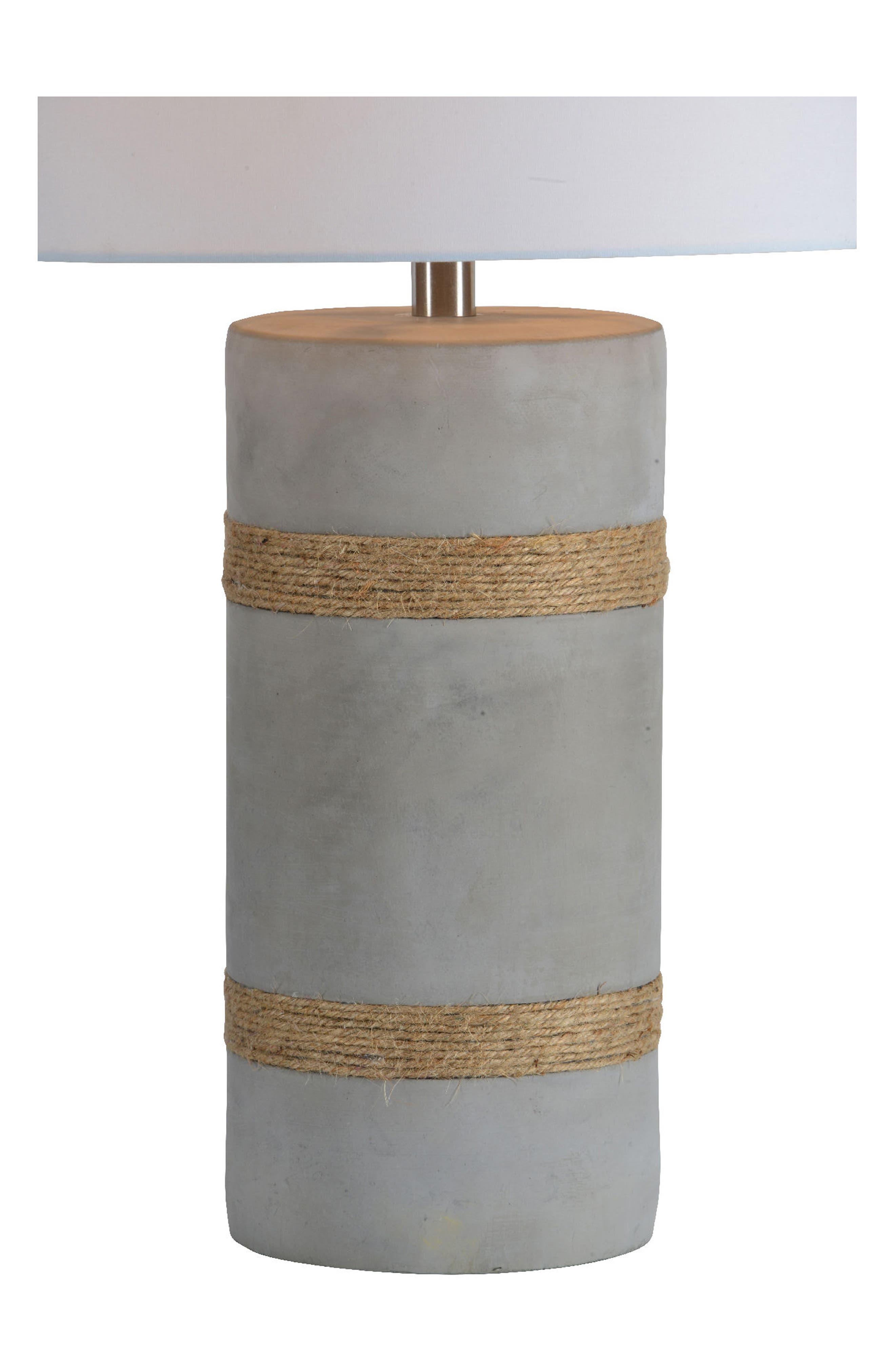 Malden Table Lamp,                             Alternate thumbnail 3, color,                             ROPE DETAIL