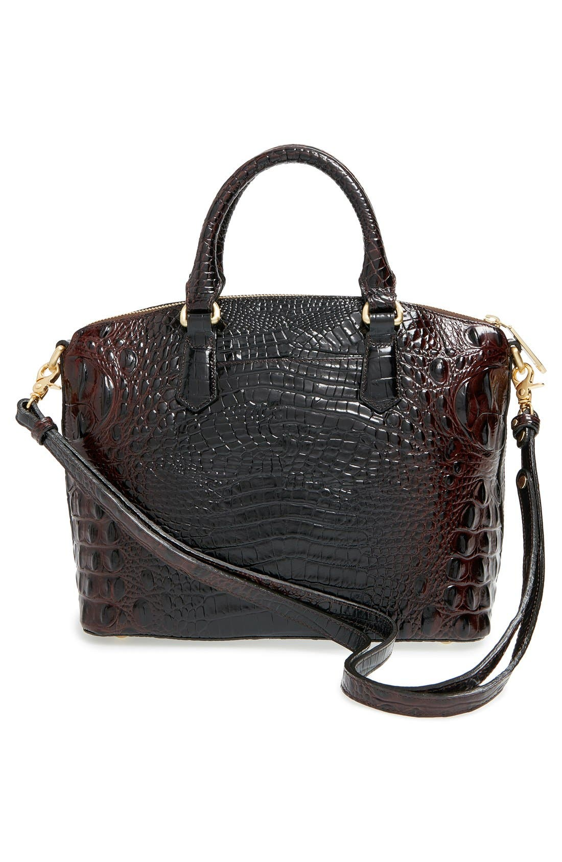 'Medium Duxbury' Croc Embossed Leather Satchel,                             Alternate thumbnail 55, color,