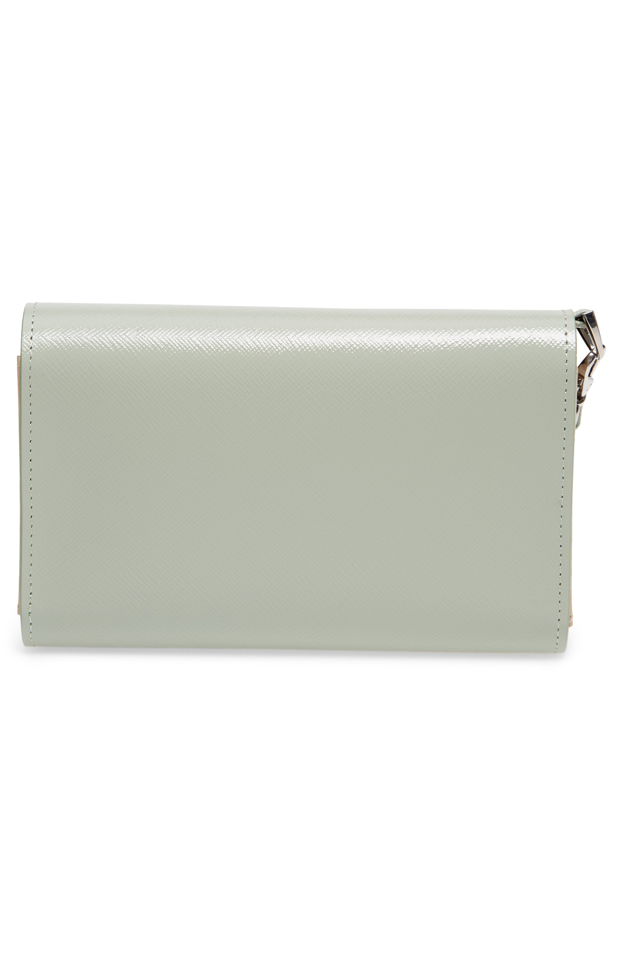 Trifold Leather Wallet,                             Alternate thumbnail 14, color,
