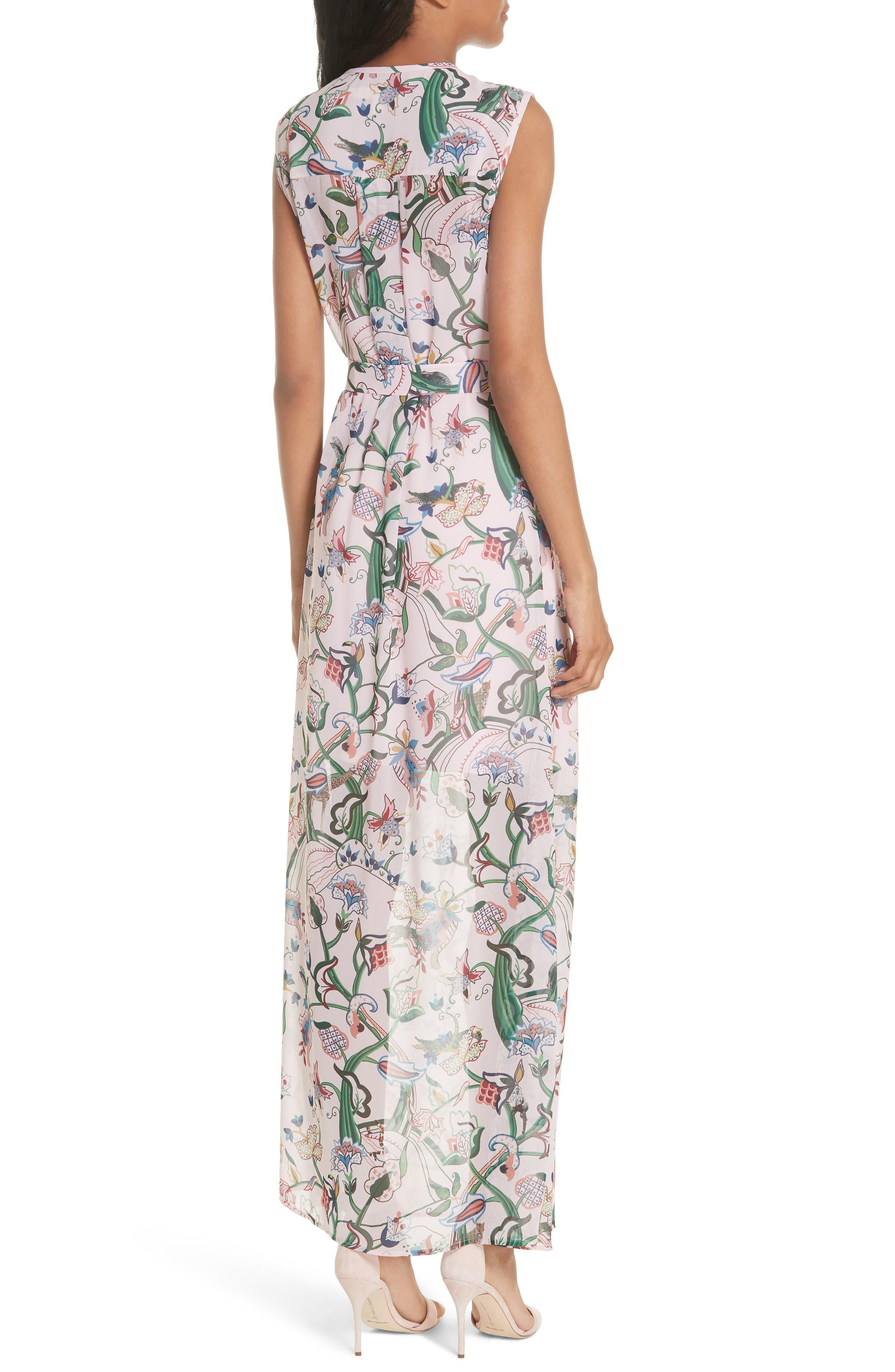 Susien Jungle Print Maxi Dress,                             Alternate thumbnail 2, color,