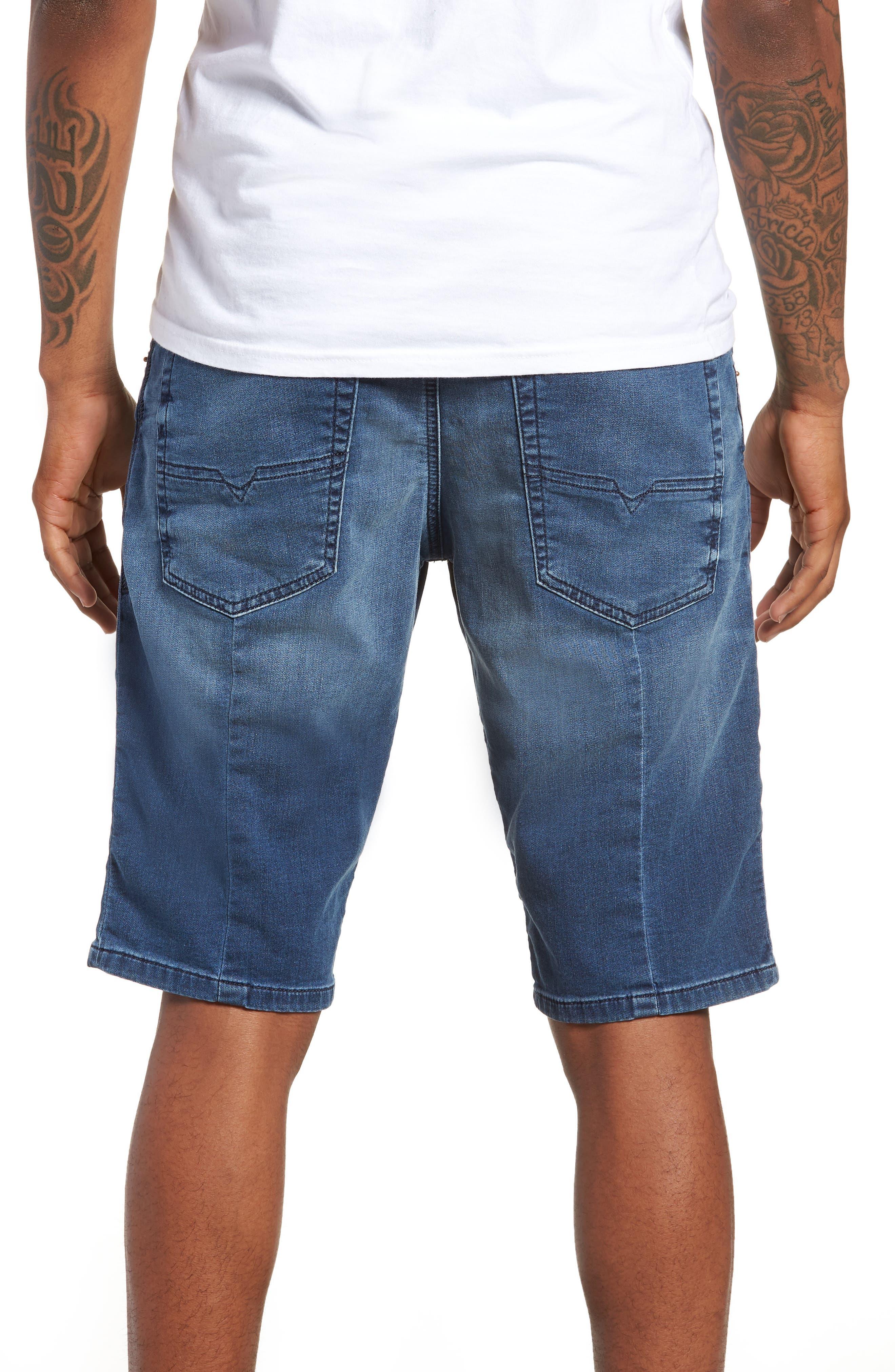 Krooshort Denim Shorts,                             Alternate thumbnail 2, color,