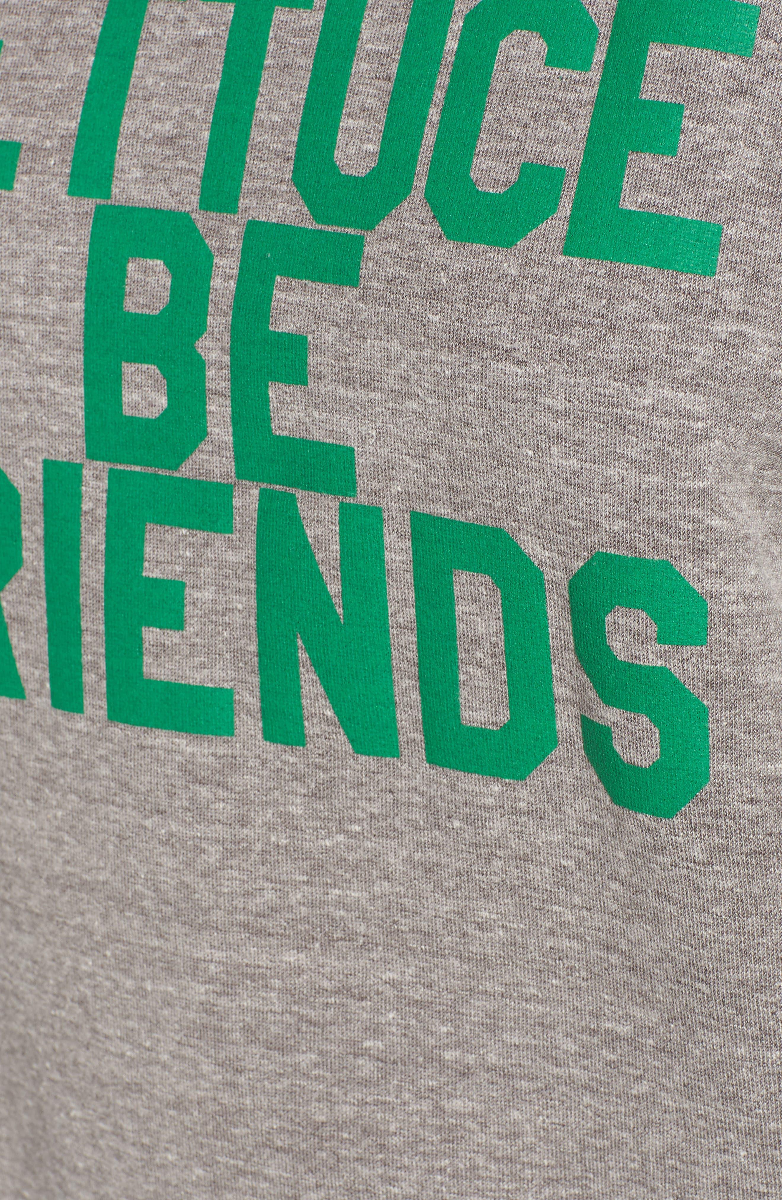 Lettuce Be Friends Sweatshirt,                             Alternate thumbnail 5, color,                             050