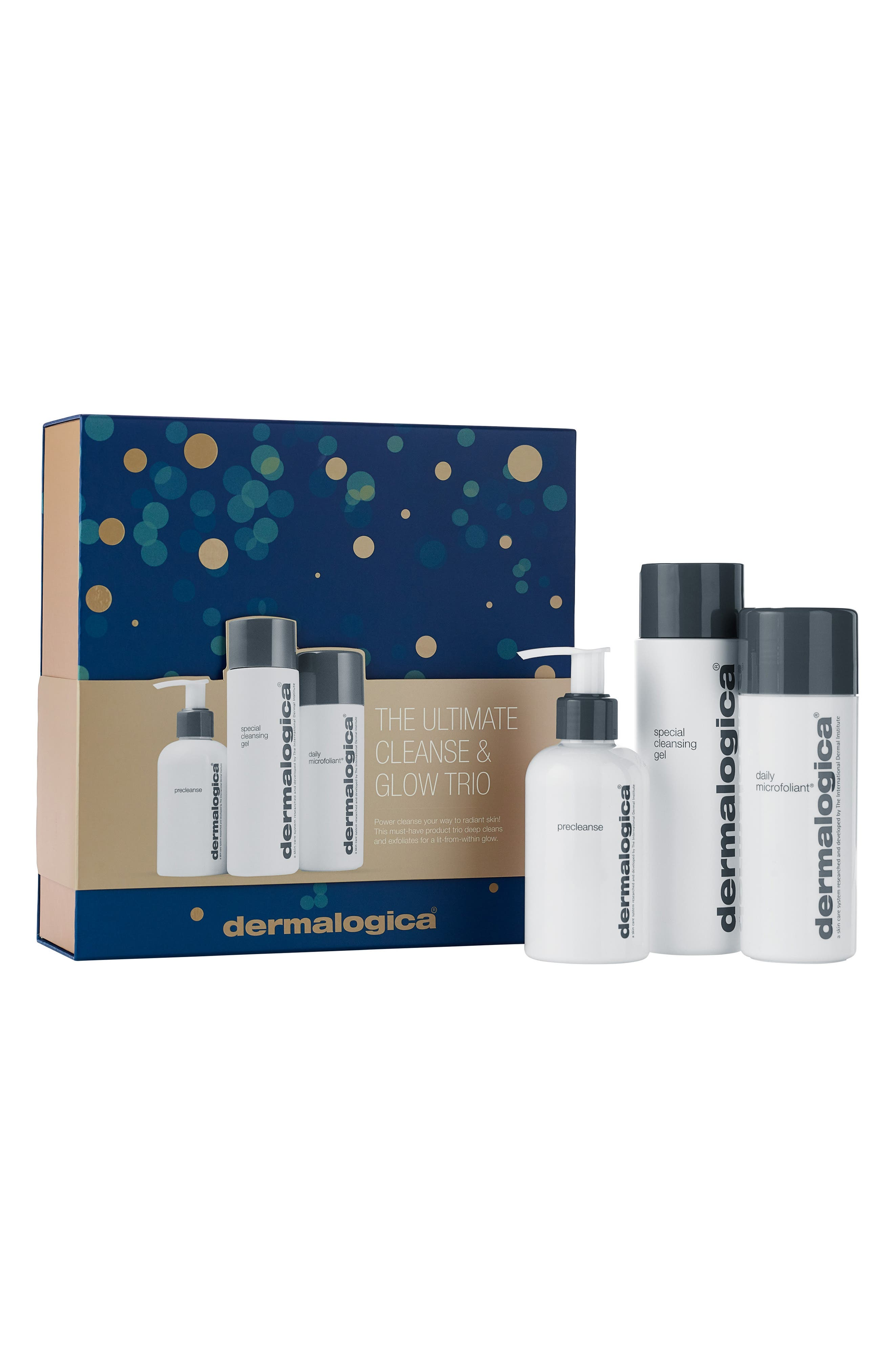 The Ultimate Cleanse & Glow Trio,                             Main thumbnail 1, color,                             000